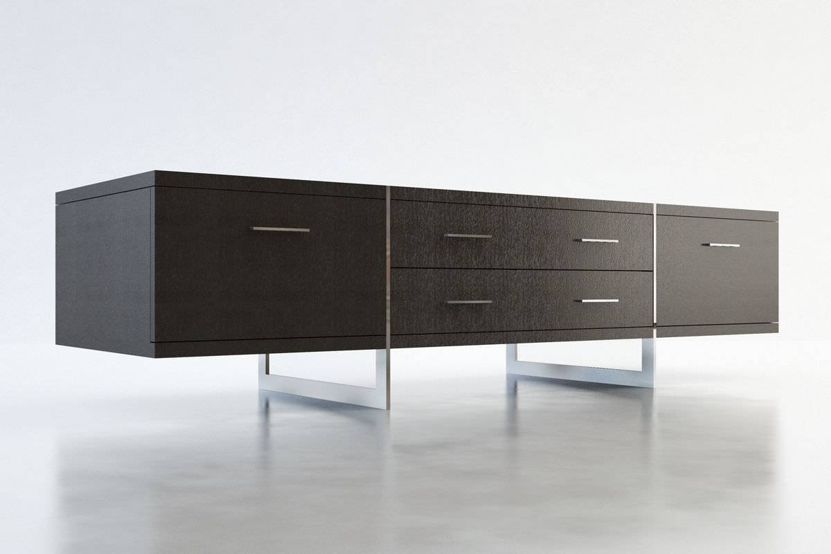 Contemporary Tv Cabinet / Wooden - Allen - Modloft throughout Contemporary Sideboard Cabinets (Image 9 of 30)