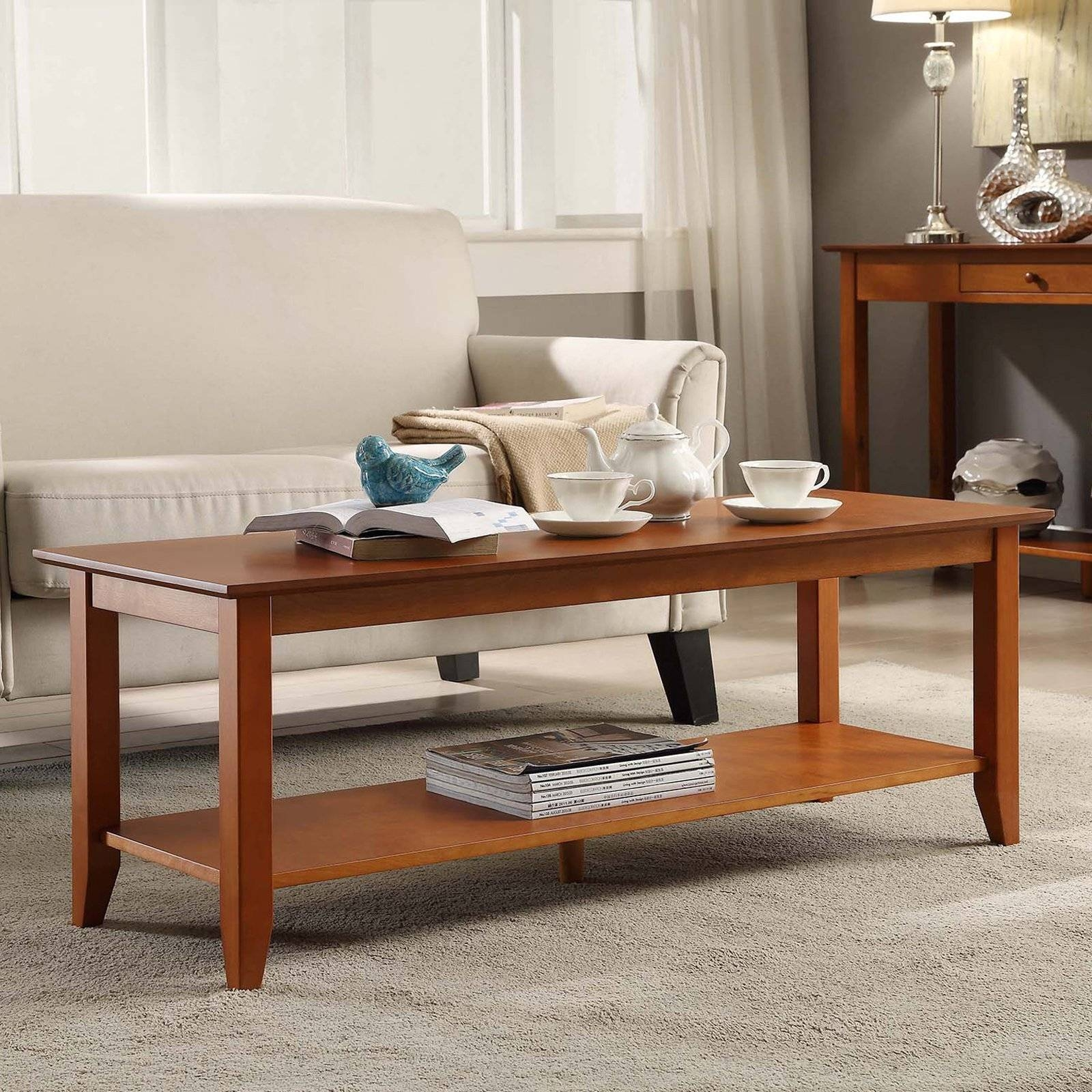 Convenience Concepts American Heritage Coffee Table - Coffee with Heritage Coffee Tables (Image 12 of 30)