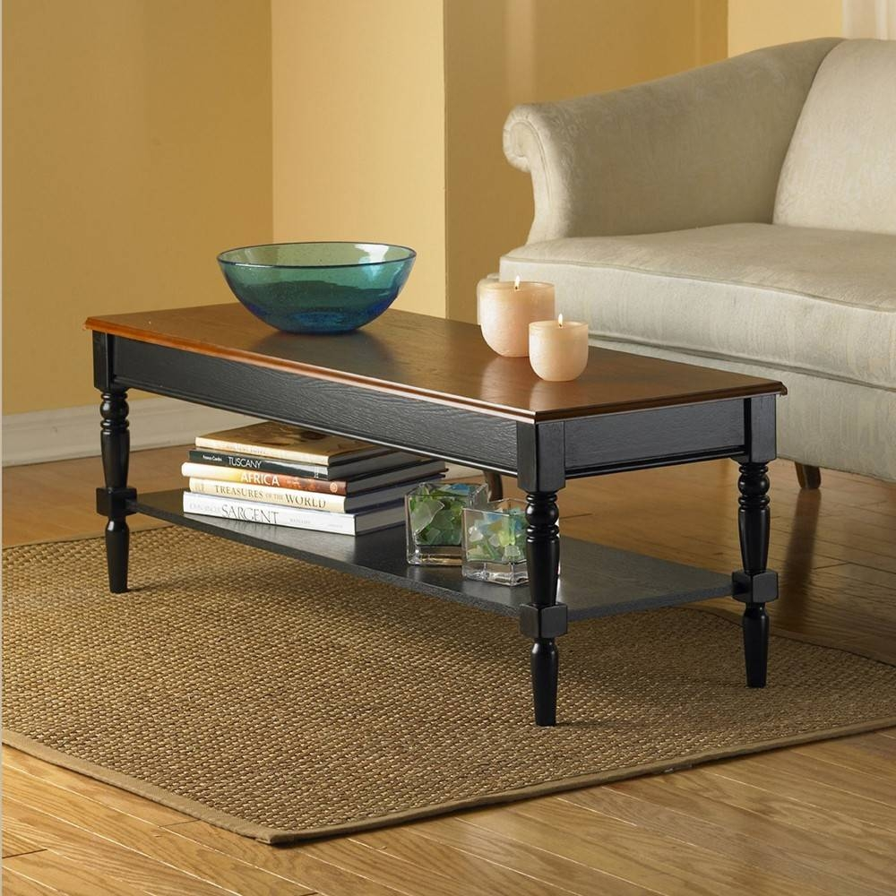 Convenience Concepts French Country Coffee Table R3-0102 - Tables within French Country Coffee Tables (Image 14 of 30)