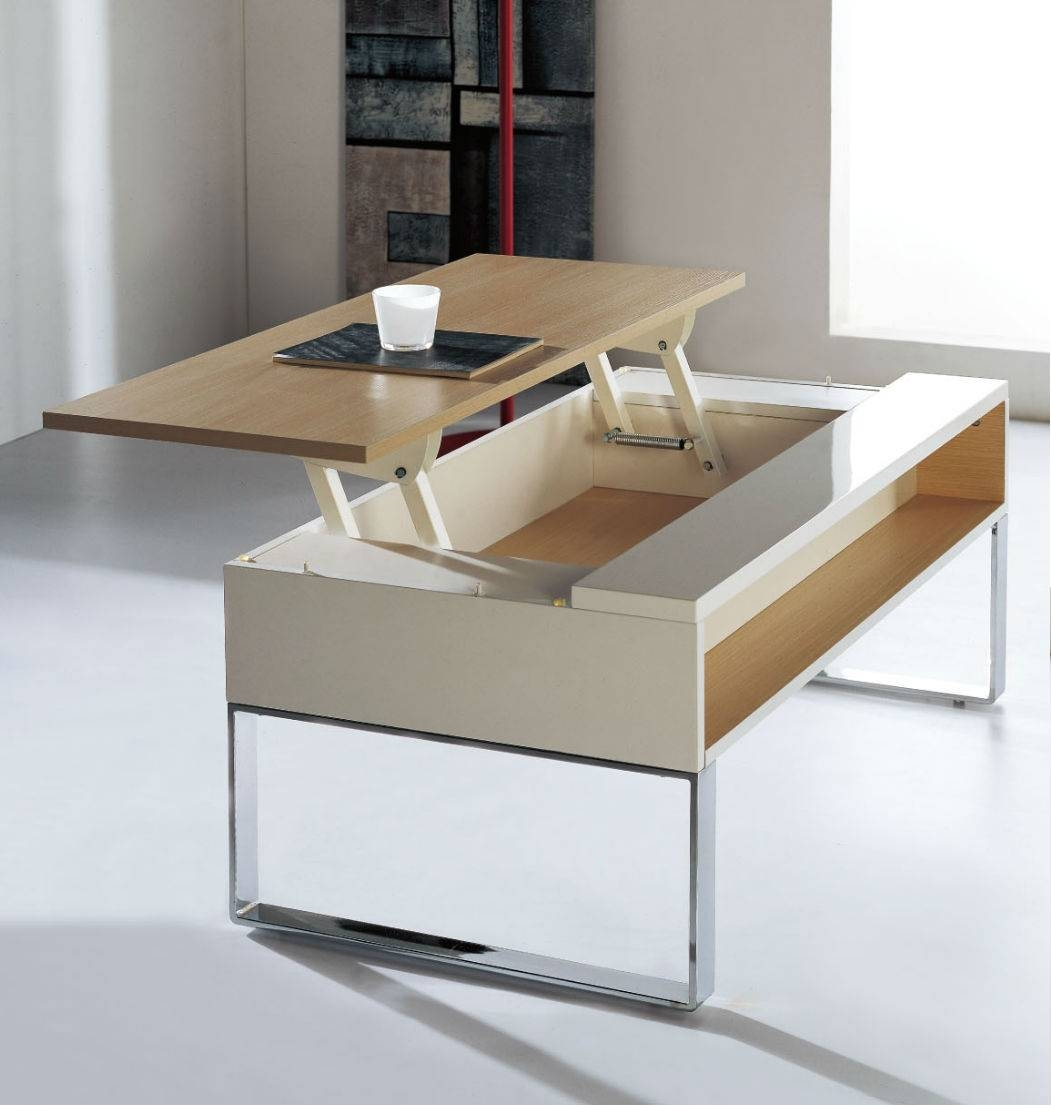Convertible Coffee Table To Dining Room Table | Coffee Tables Regarding Coffee Tables Extendable Top (View 6 of 30)