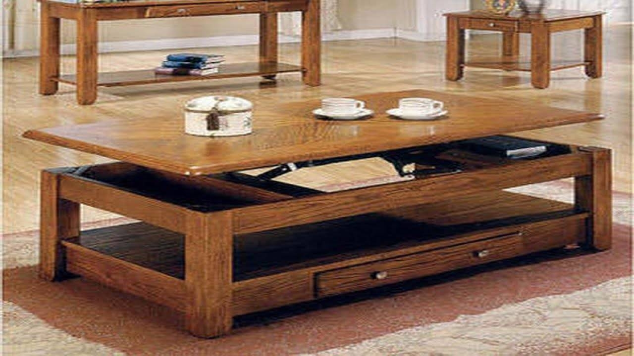 Convertible Coffee Table - Youtube in Coffee Table Dining Table (Image 9 of 30)
