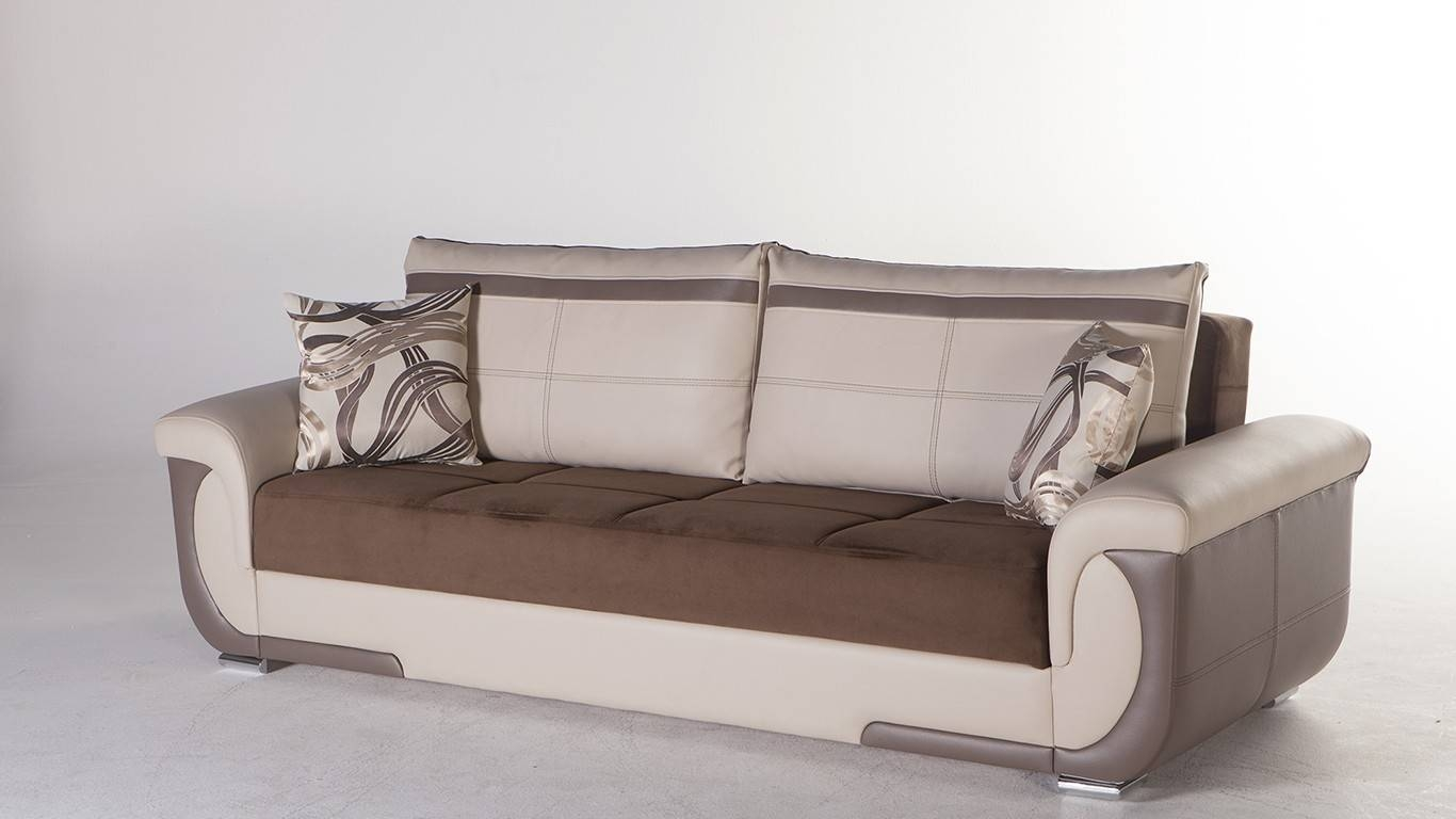Convertible Sofa Bed With Storage Design — Interior-Exterior Homie with regard to Storage Sofa Beds (Image 4 of 30)