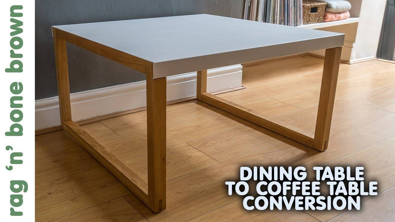 Converting A Dining Table In To A Coffee Table - Habitat Kilo inside Coffee Table to Dining Table (Image 12 of 30)
