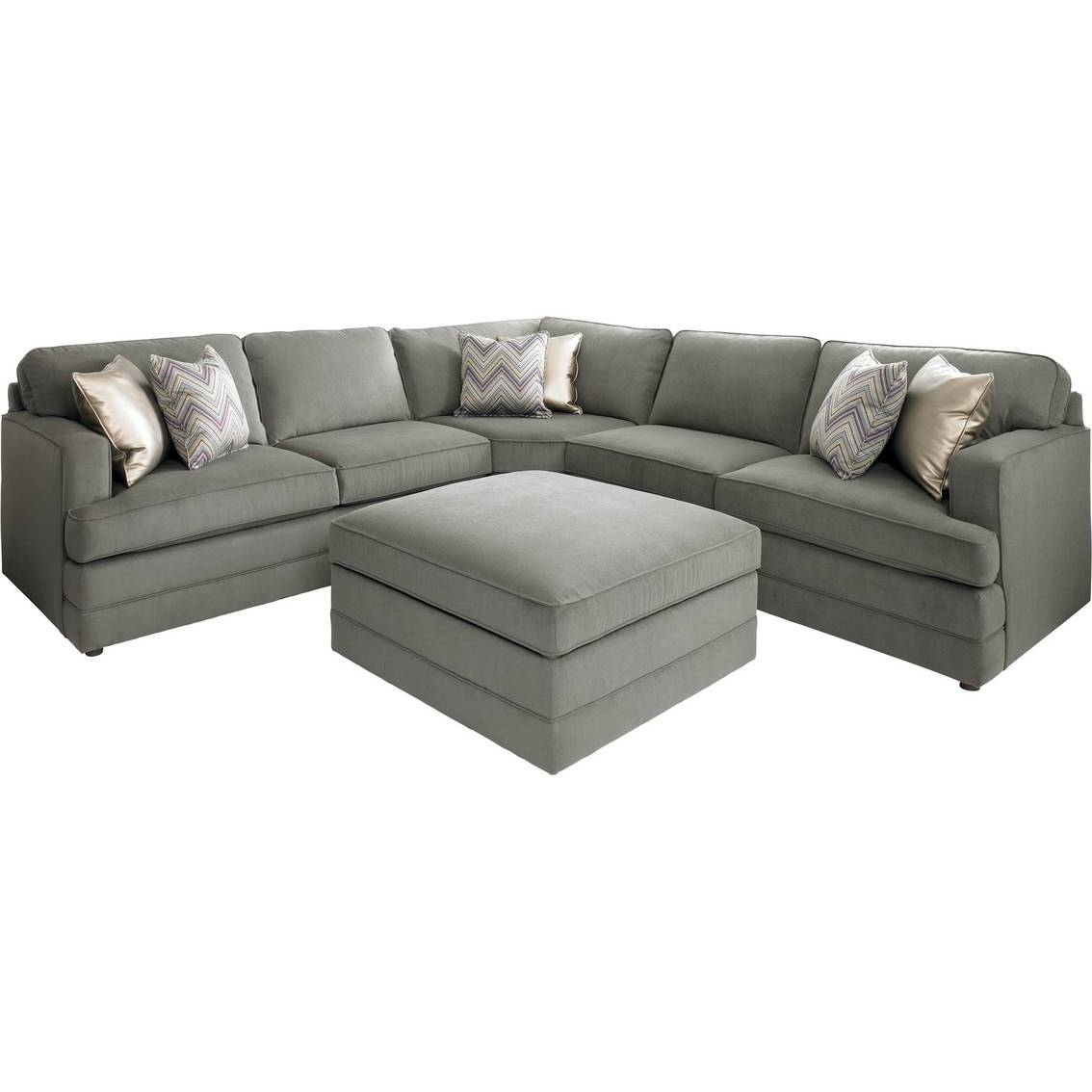 Cool Bassett Sectional Sofas 43 About Remodel Eggplant Sectional Regarding Eggplant  Sectional Sofa (Image 8