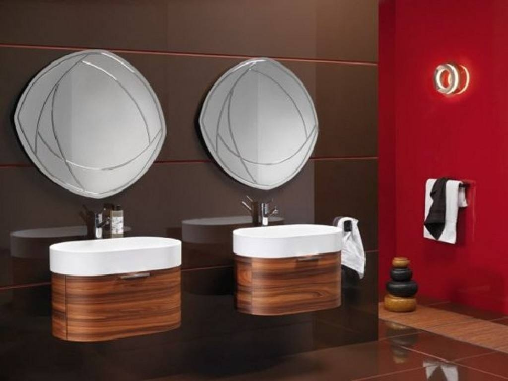 Featured Photo of Unusual Mirrors For Bathrooms