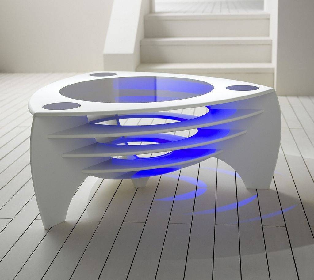 Cool Contemporary Coffee Tables: 14 Wonderful Cool Coffee Tables with regard to Funky Coffee Tables (Image 9 of 30)