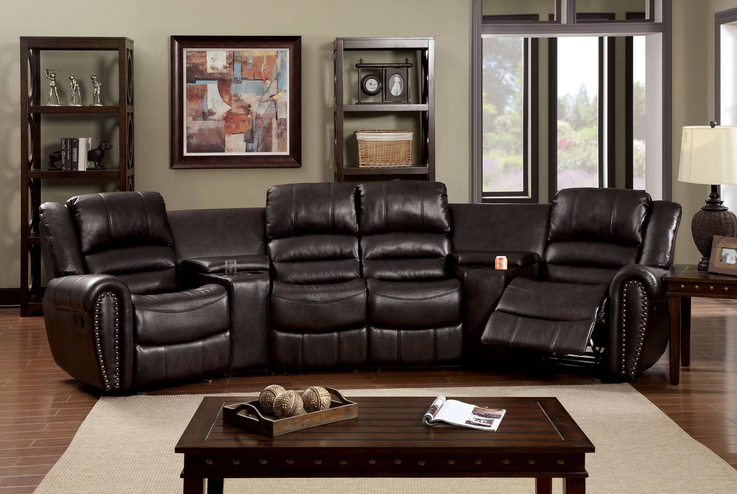 Cool Home Theater Sectional Sofas 11 With Additional Sectional in Theatre Sectional Sofas (Image 7 : theater sectional sofas - Sectionals, Sofas & Couches