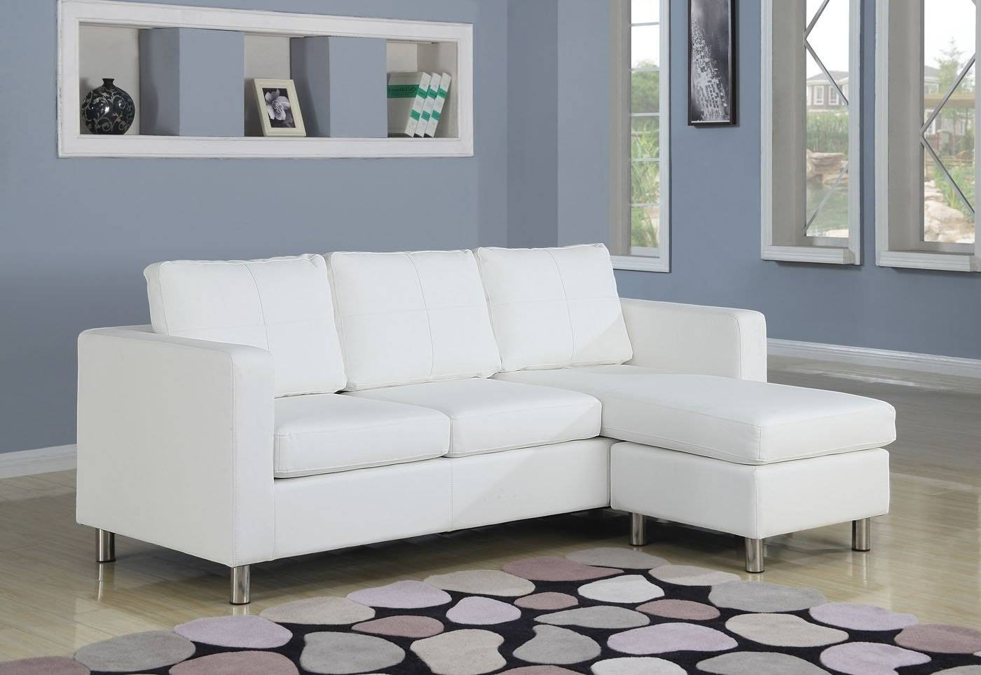 Cool Small Sectional Sofa With Chaise Lounge 74 With Additional inside Small 2 Piece Sectional Sofas (Image 10 of 30)