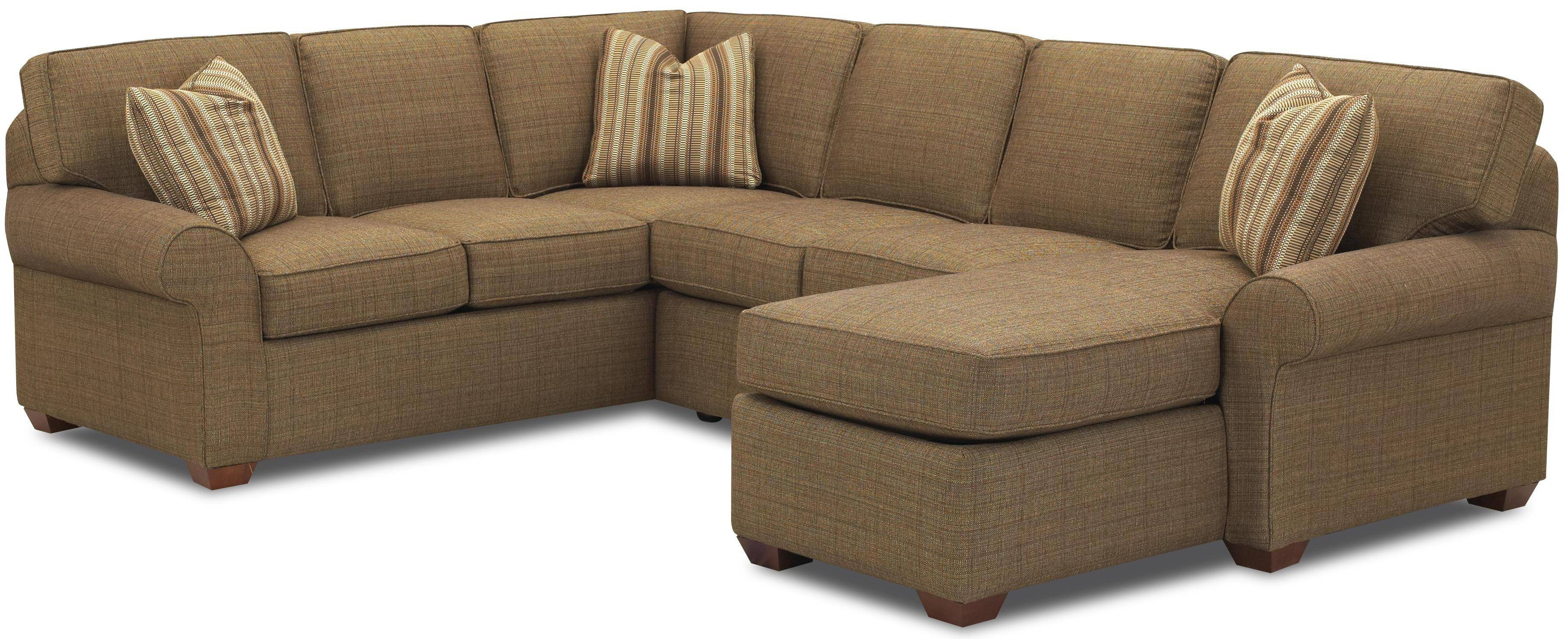 Cool Small Sectional Sofa With Chaise Lounge 74 With Additional inside Small 2 Piece Sectional Sofas (Image 9 of 30)