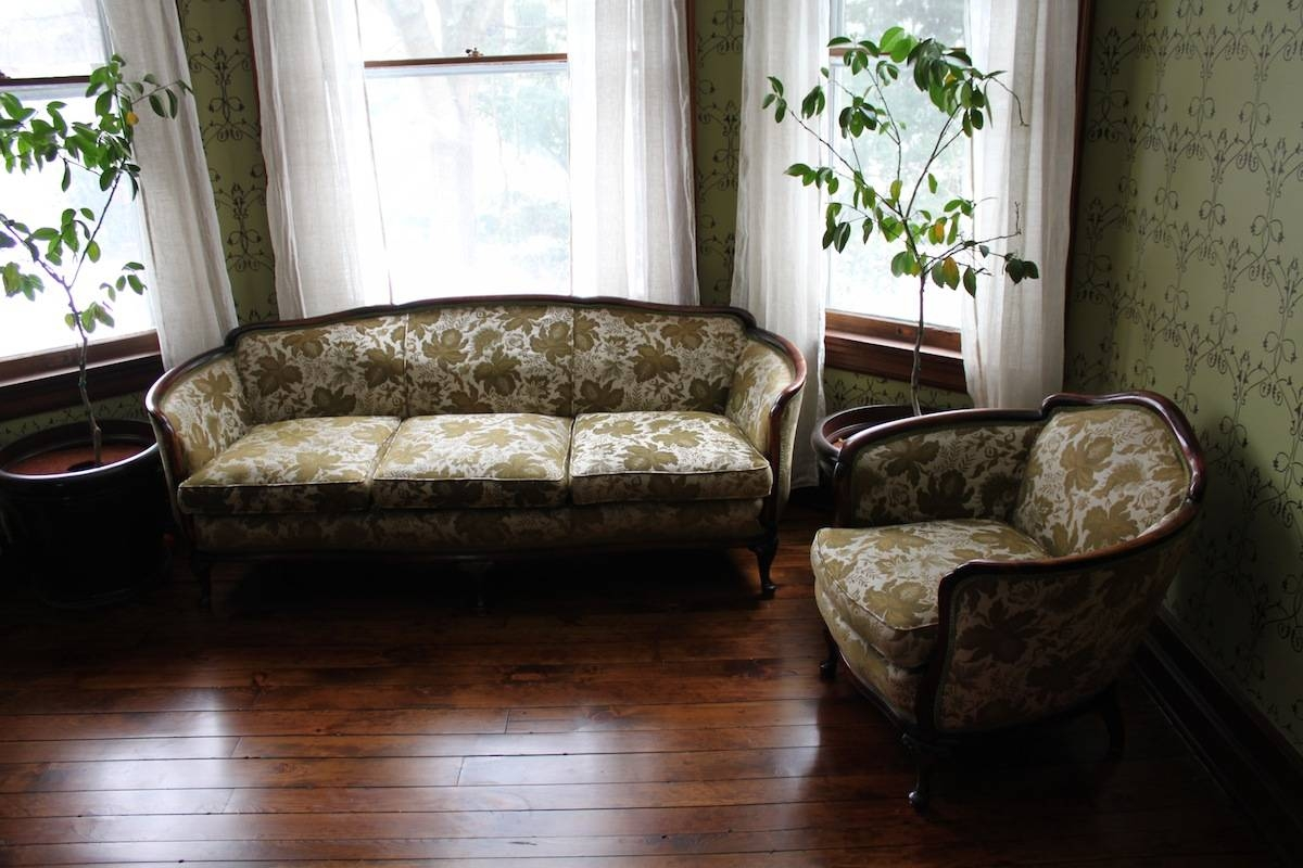 Cordia's Legacy In Our Home | 60 West Main Street Blog throughout 1930S Couch (Image 11 of 30)