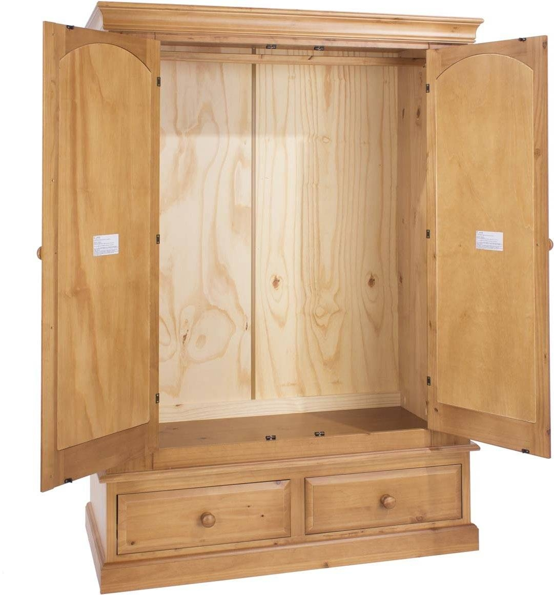 Core Products Ed582 Wardrobes For Natural Pine Wardrobes (View 3 of 15)