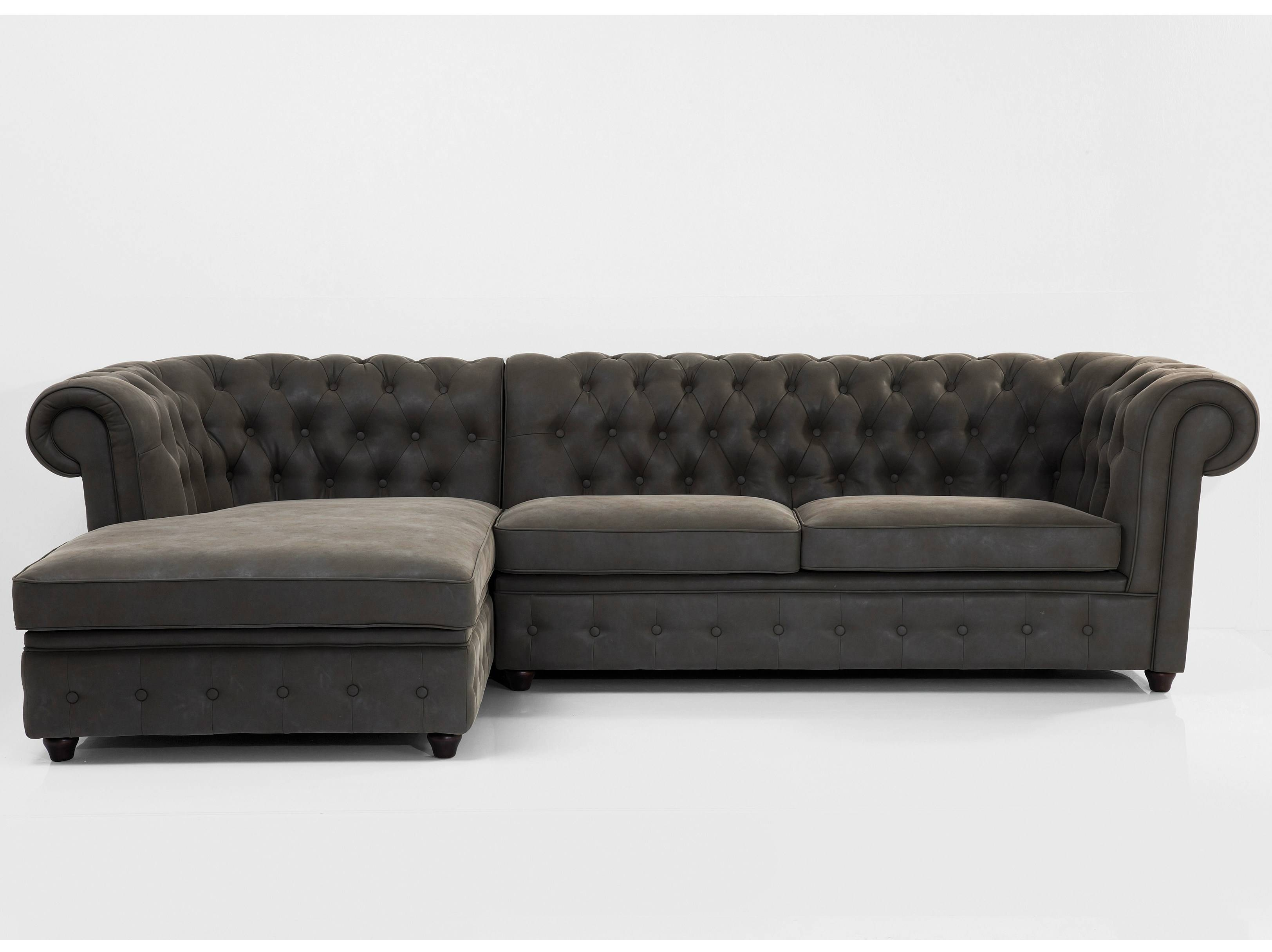 Corner 3 Seater Sofa Oxford Graphitekare-Design in Oxford Sofas (Image 9 of 30)