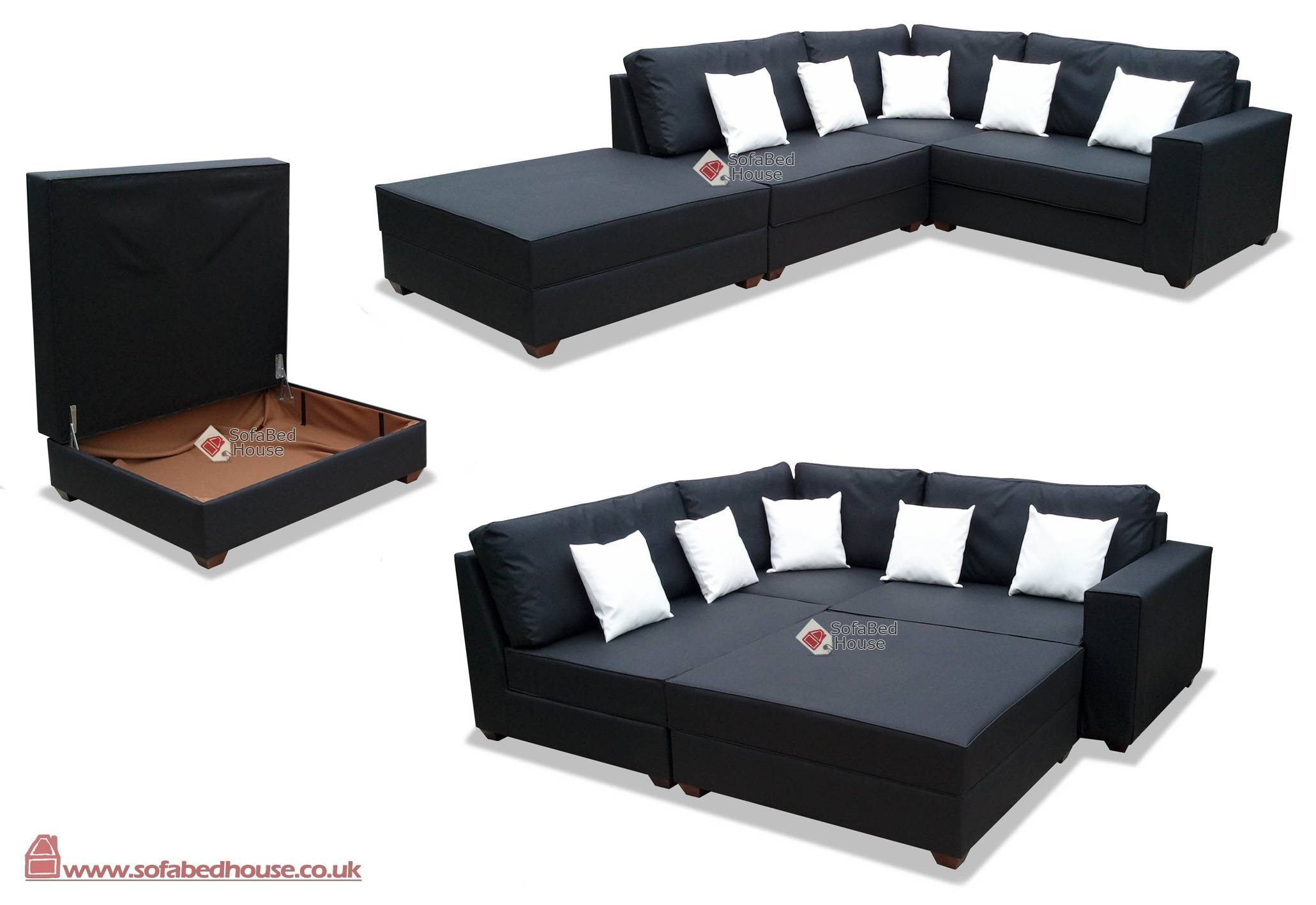 Sectional Sofa Bed Reclining Sectional L Shaped Sofa Round