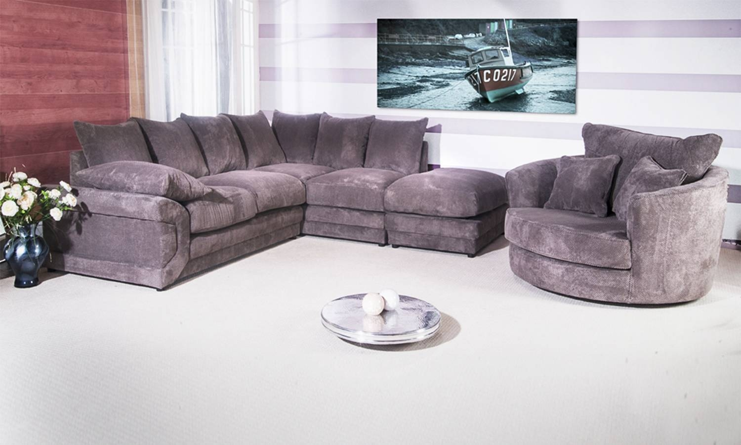 Corner Sofa And Chair Set | Tehranmix Decoration with regard to Sofa With Swivel Chair (Image 11 of 30)
