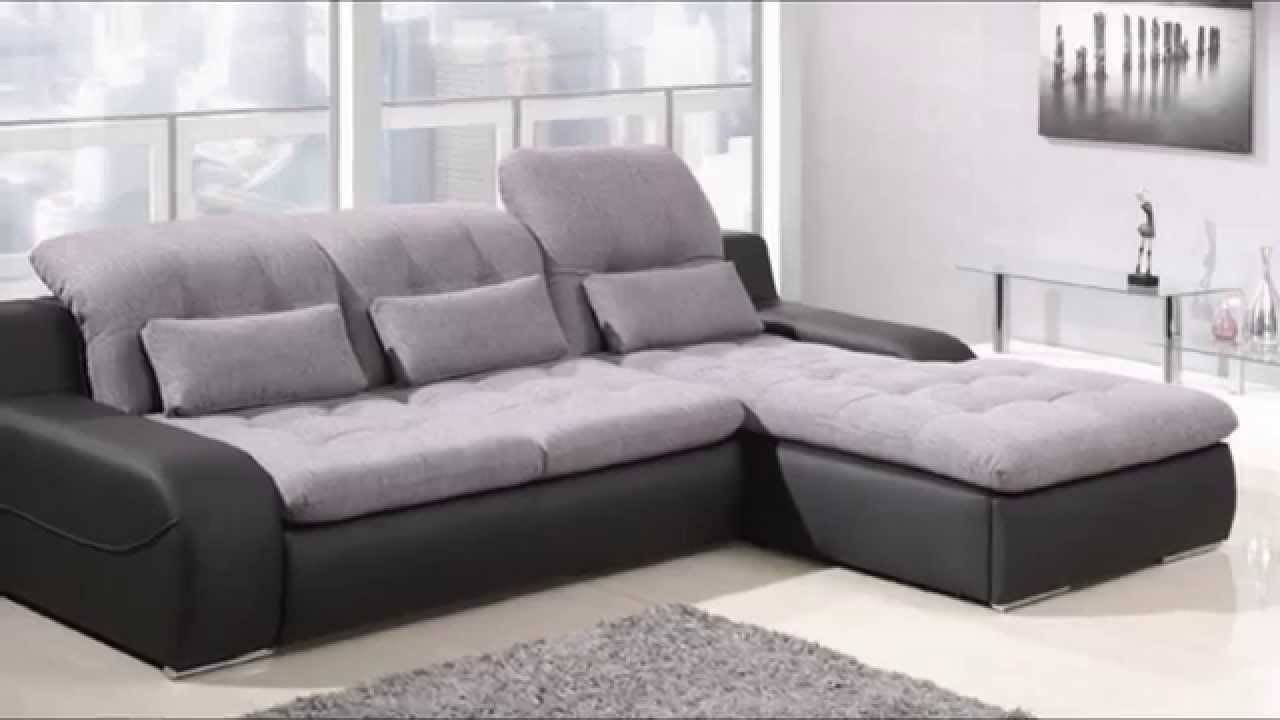 Corner Sofa Bed | Corner Sofa Bed And Storage - Youtube throughout Leather Sofa Beds With Storage (Image 6 of 30)