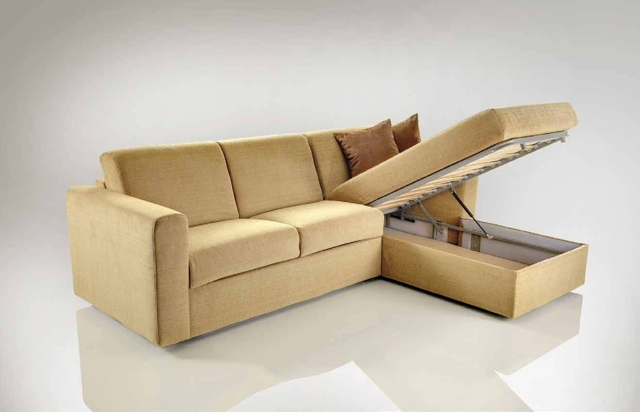 Corner Sofa Bed With Storage | Corner Sofa With Bed And Storage with Leather Sofa Beds With Storage (Image 5 of 30)