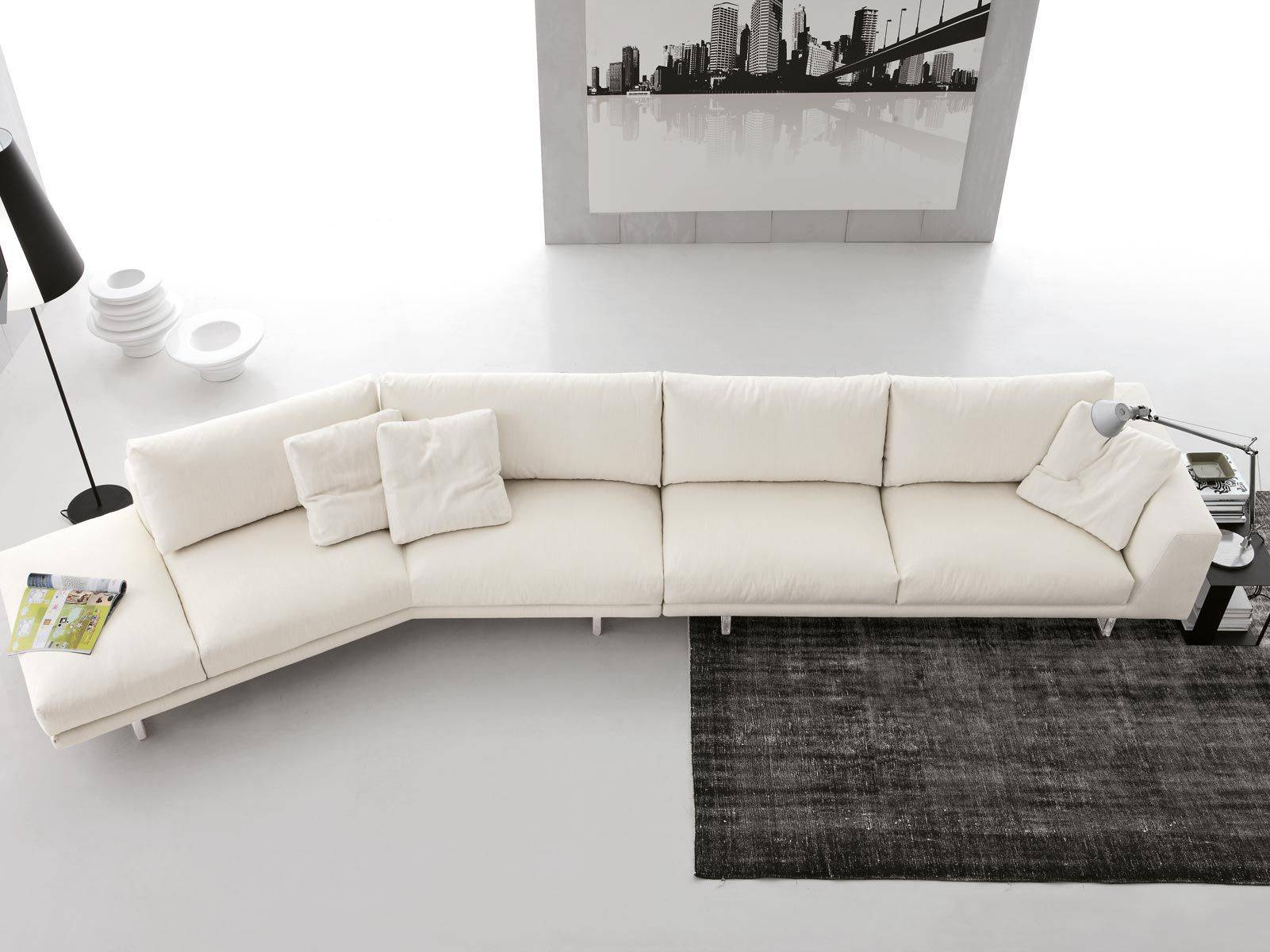 Corner Sofa / Contemporary / Fabric / 3-Seater - Empire - Gruppo for Contemporary Fabric Sofas (Image 5 of 30)