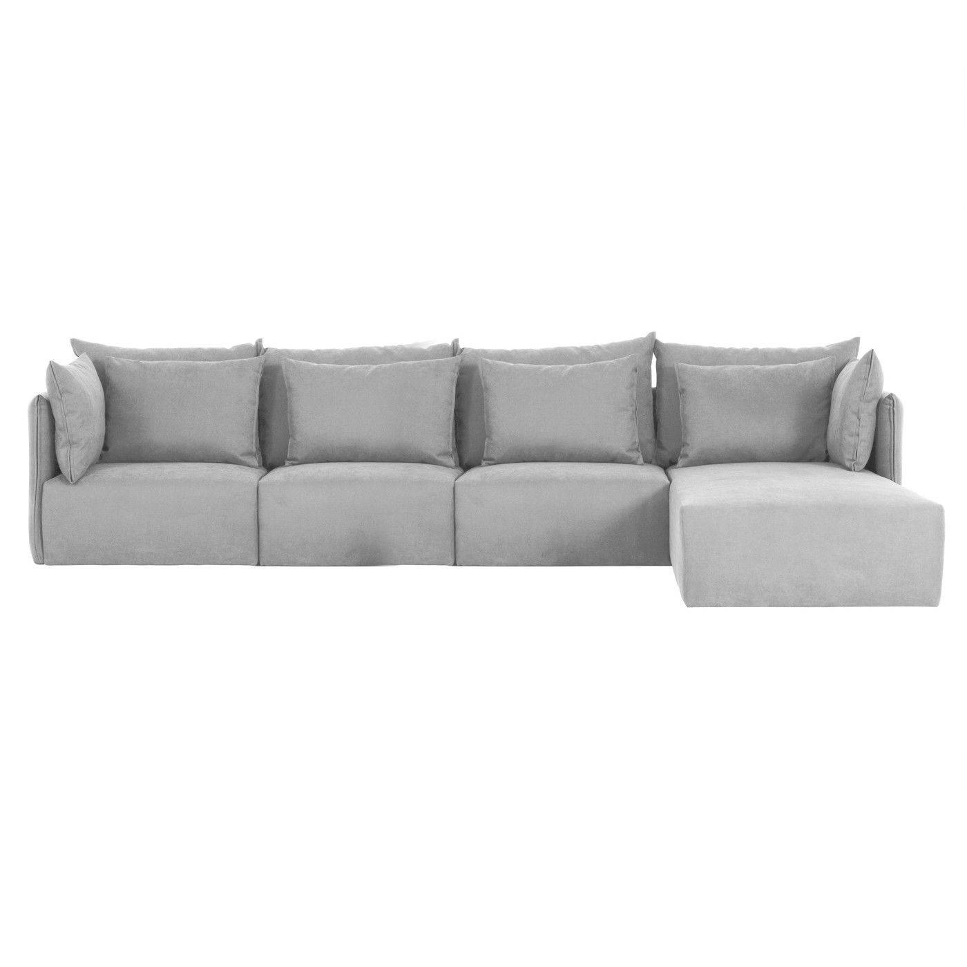 Corner Sofa / Contemporary / Fabric / 4-Seater - Dune - Temahome within 4 Seater Couch (Image 10 of 30)
