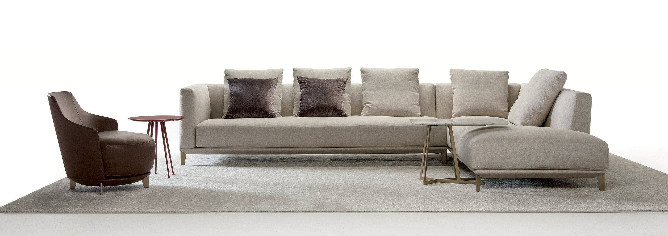 Corner Sofa / Modular / Contemporary / Fabric - Dylancastello in Contemporary Fabric Sofas (Image 9 of 30)