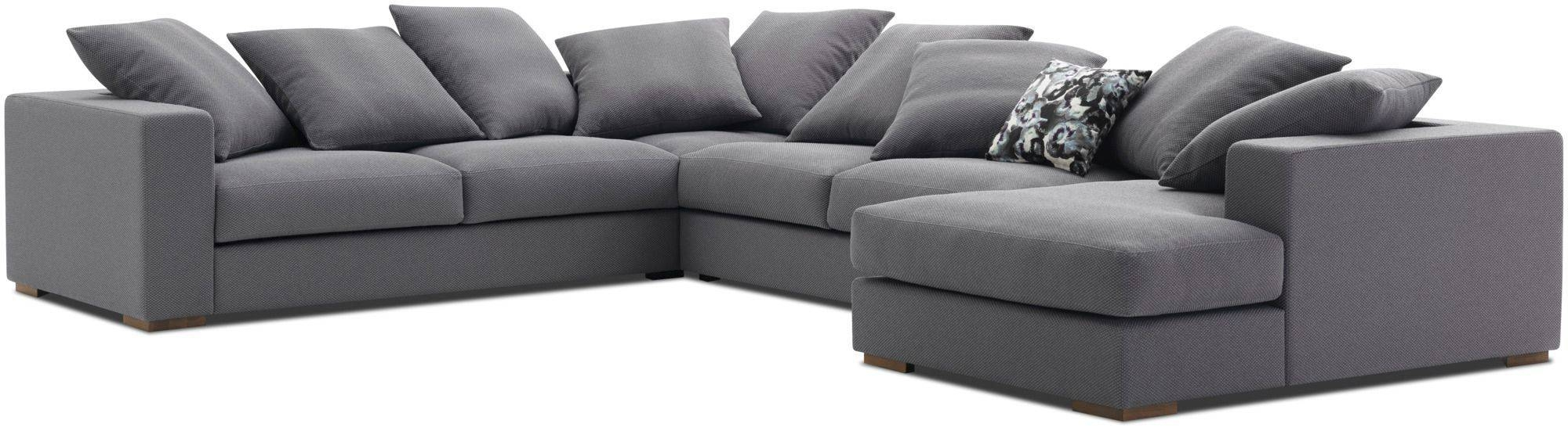 Corner Sofa / Modular / Contemporary / Leather - Cenova - Boconcept for Modular Corner Sofas (Image 14 of 30)
