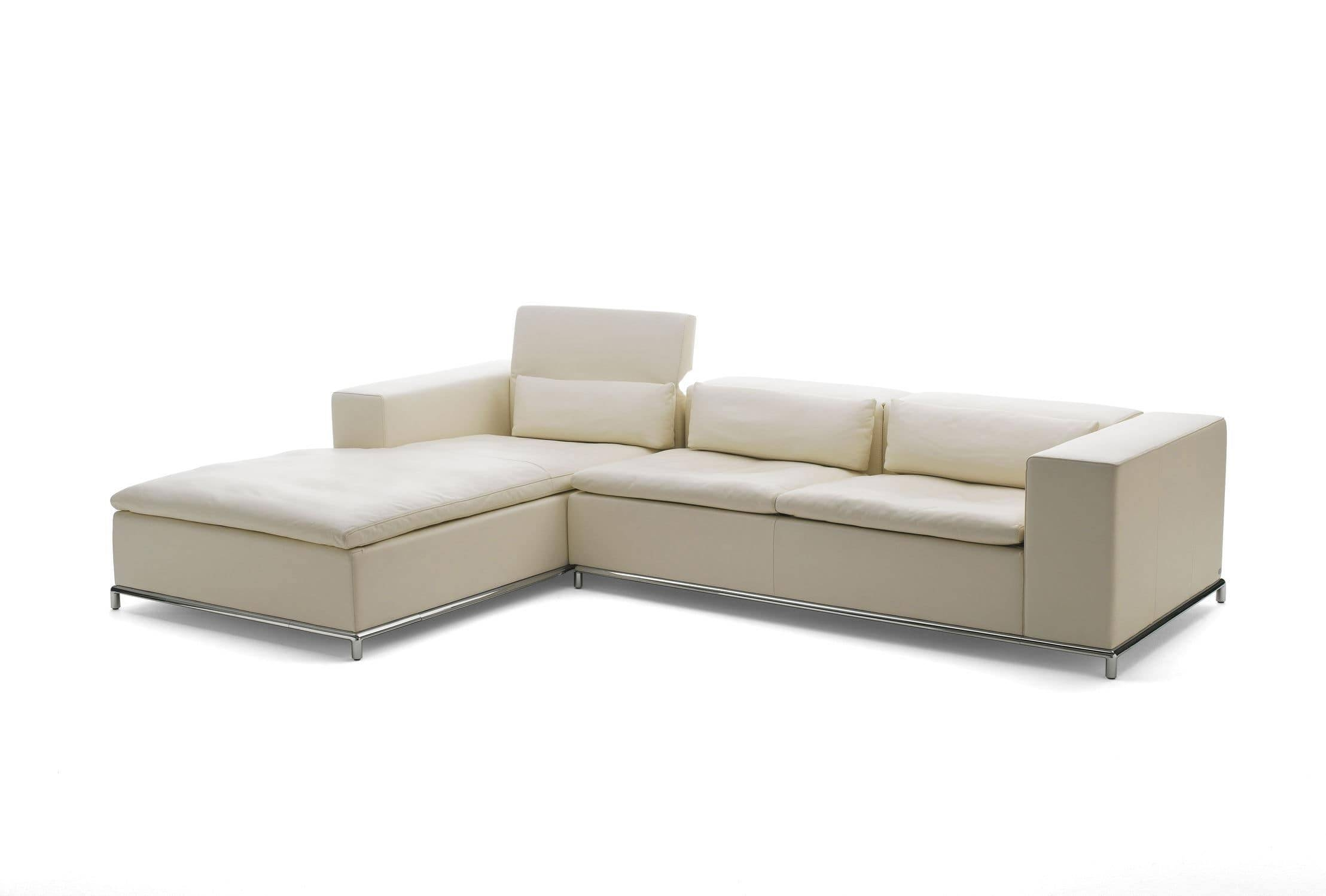 Corner Sofa / Modular / Contemporary / Leather - Ds-7Antonella for Modular Corner Sofas (Image 16 of 30)