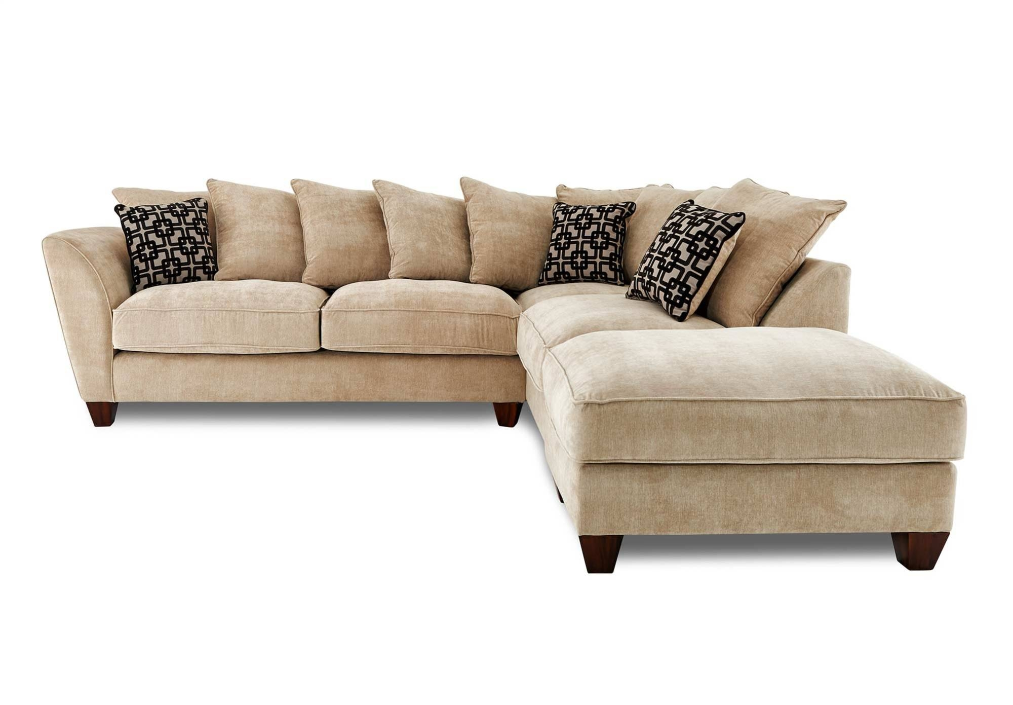 Popular Photo of Corner Sofa Chairs