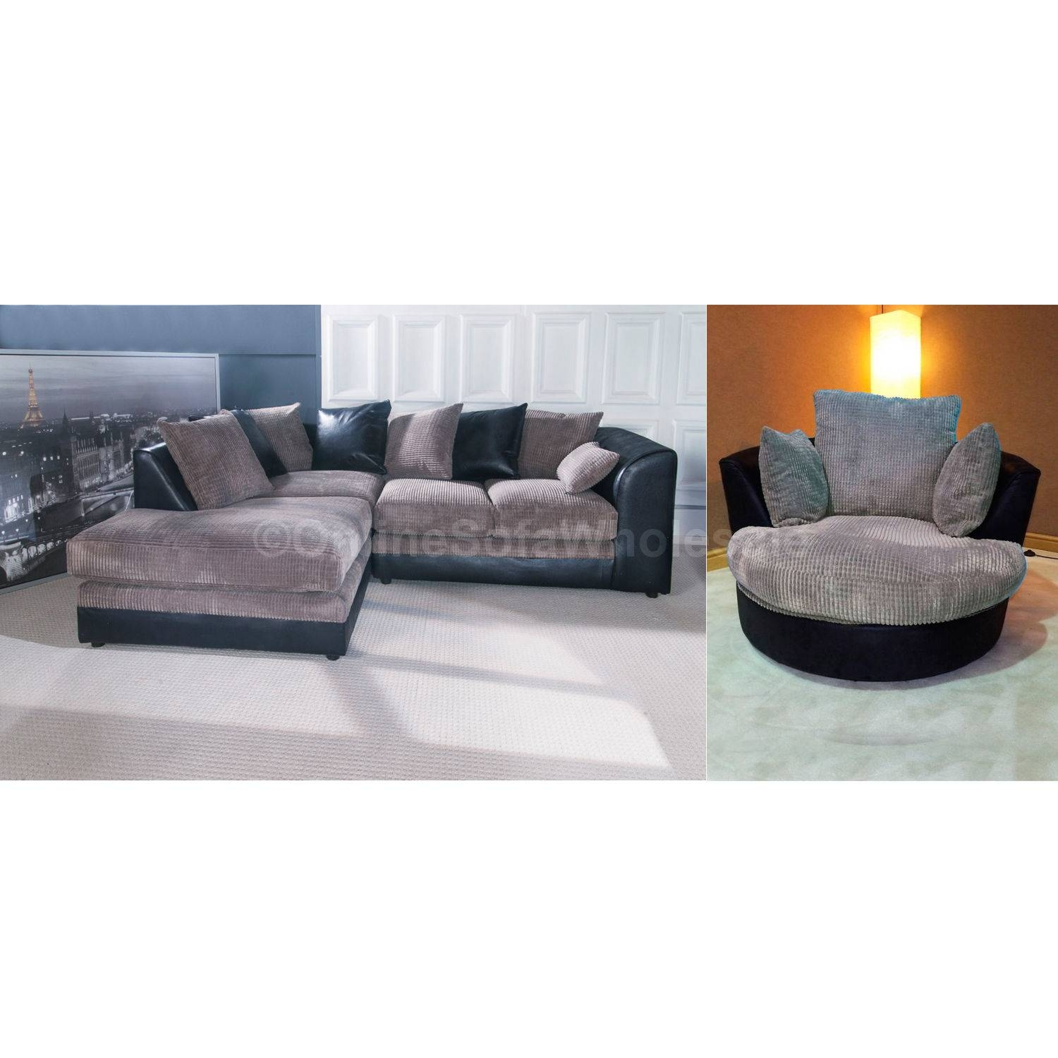Corner Sofa With Swivel Chair Best Selling Ur7 | Umpsa 78 Sofas intended for Sofa With Swivel Chair (Image 12 of 30)