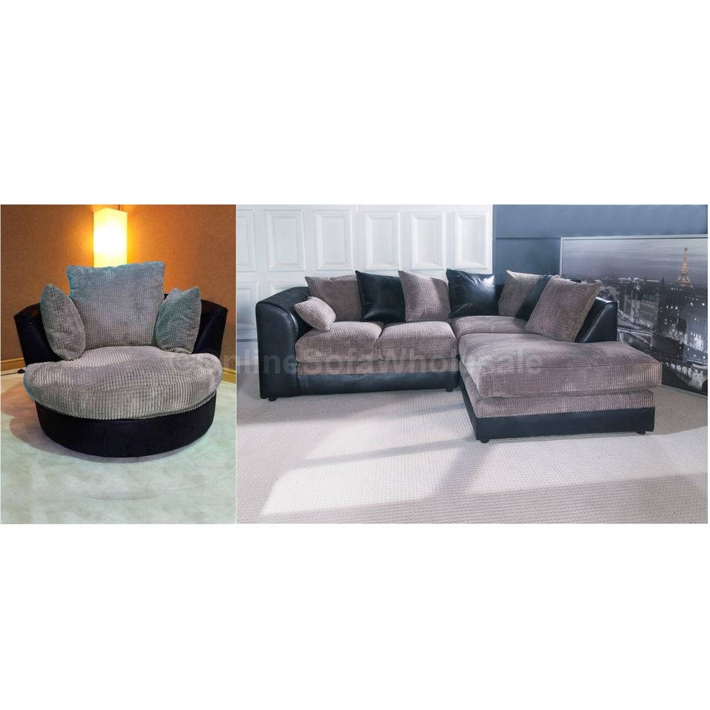 Corner Sofa With Swivel Chair Chair : Home Decorating Ideas within Corner Sofa And Swivel Chairs (Image 13 of 30)