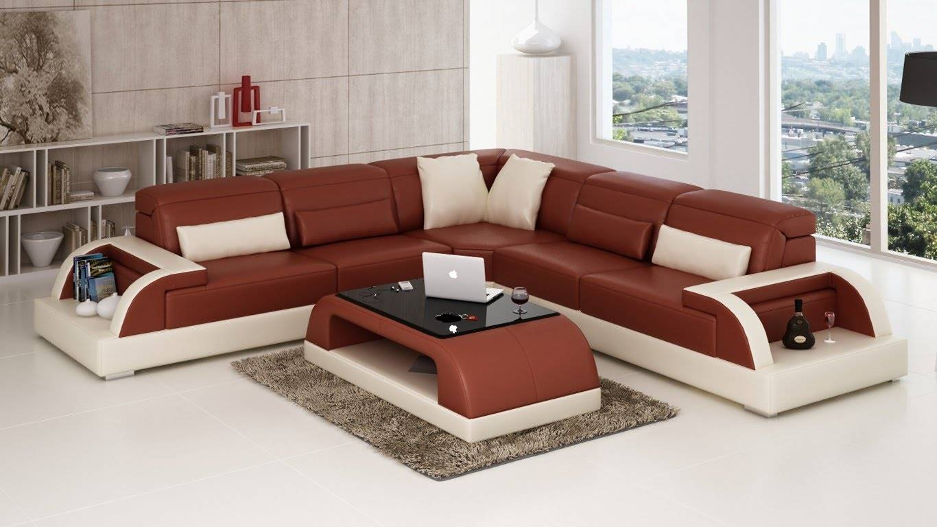 Corner Sofa – Youtube Throughout Small Brown Leather Corner Sofas (View 4 of 30)