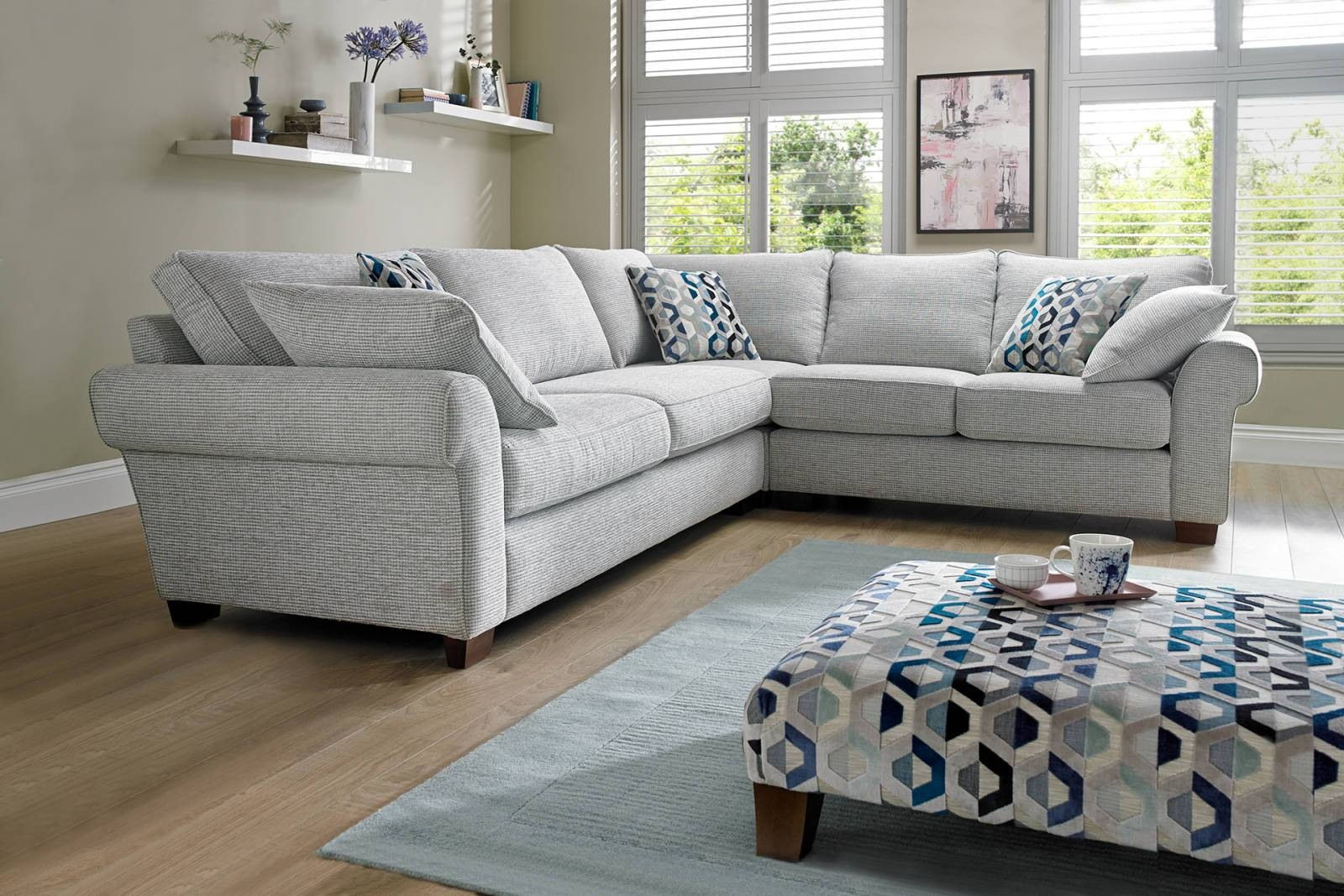 Corner Sofas In Leather, Fabric | Sofology in Leather Corner Sofas (Image 9 of 30)