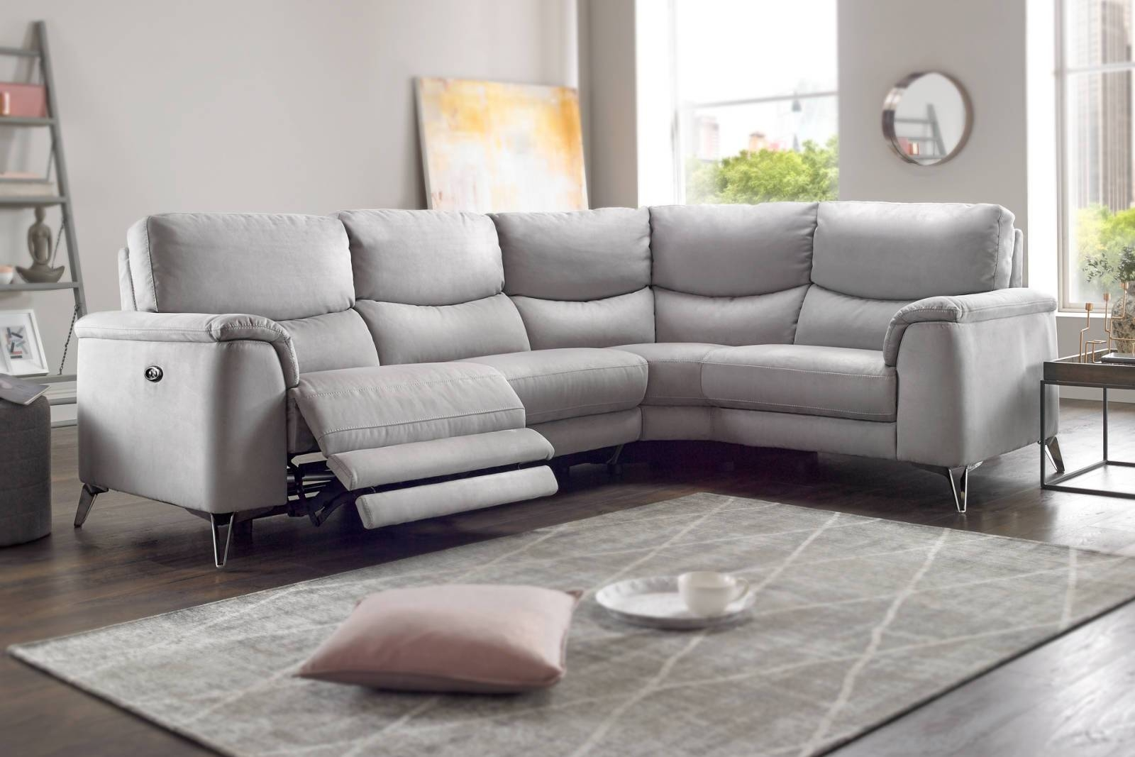 Corner Sofas In Leather, Fabric | Sofology inside Corner Sofa Leather (Image 6 of 30)