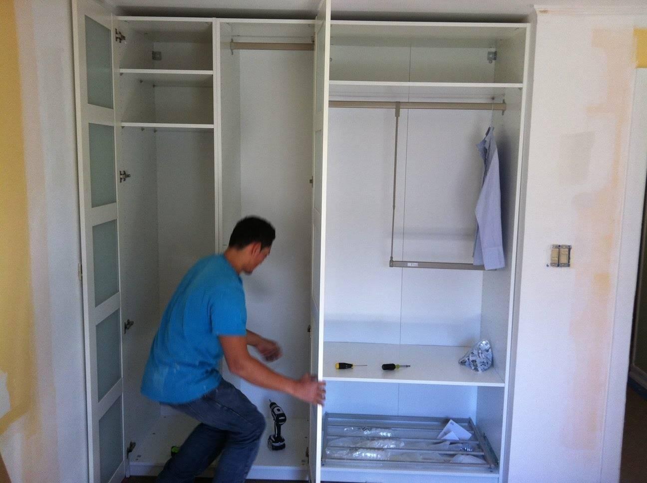 Как построить гардеробную своими руками пошаговая инструкция