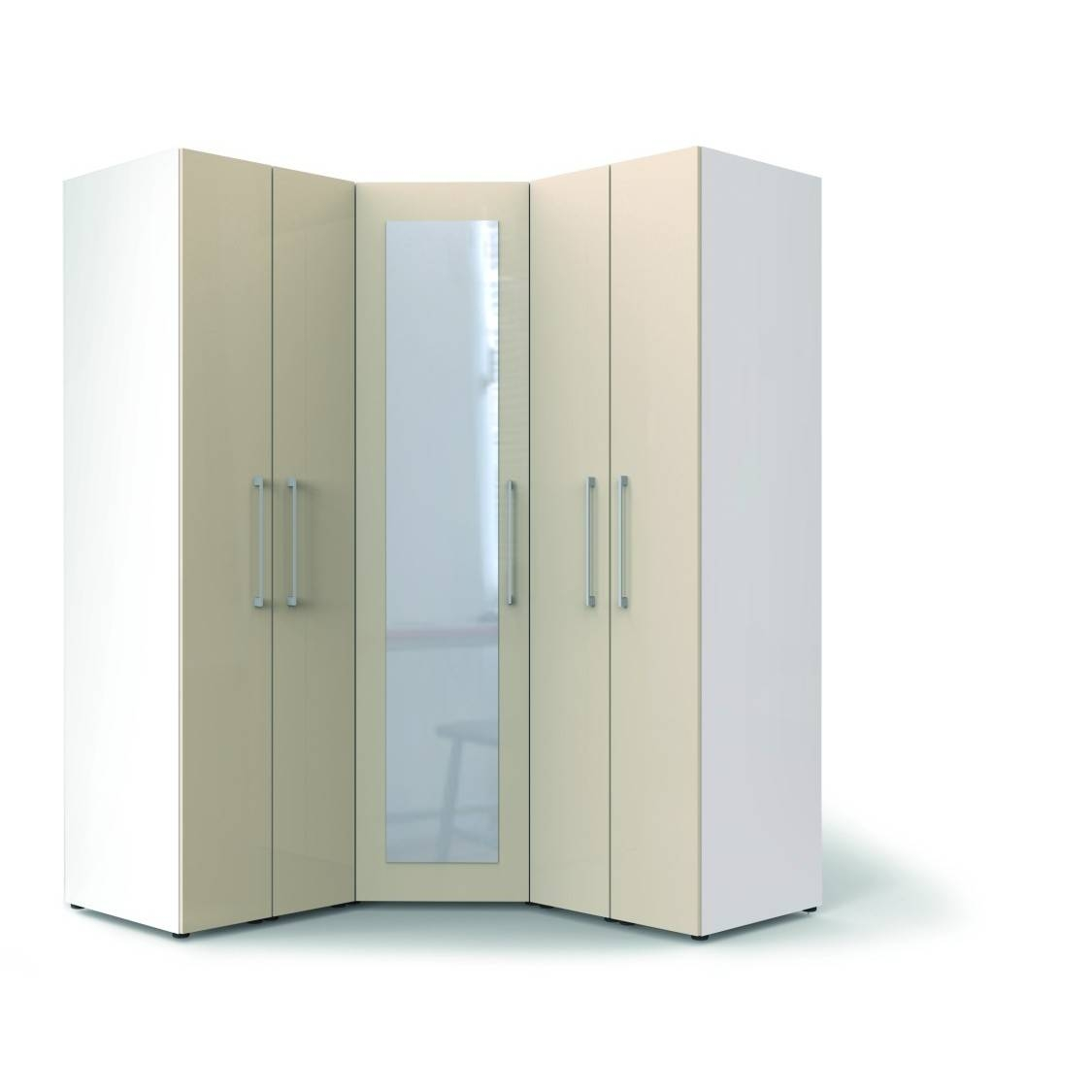 Corner Wardrobe Organization Ideas To Maximize The Empty Spot pertaining to White Corner Wardrobes Units (Image 4 of 15)