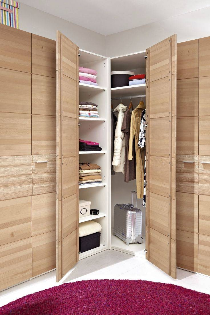 Corner Wardrobe Solutions | Hallway Furniture Ideas in Corner Wardrobes (Image 2 of 15)