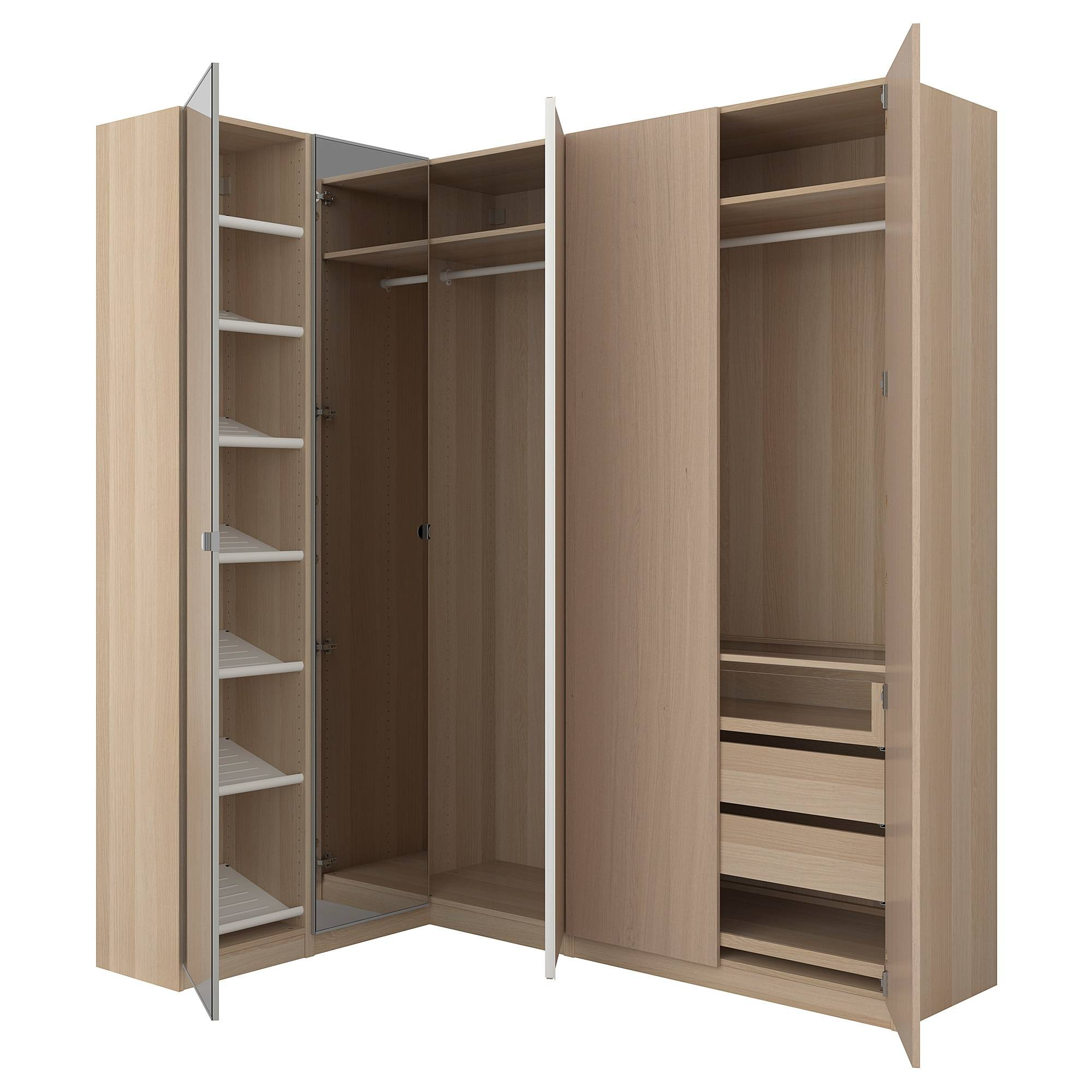 Corner Wardrobes within Corner Wardrobe Closet Ikea (Image 12 of 30)