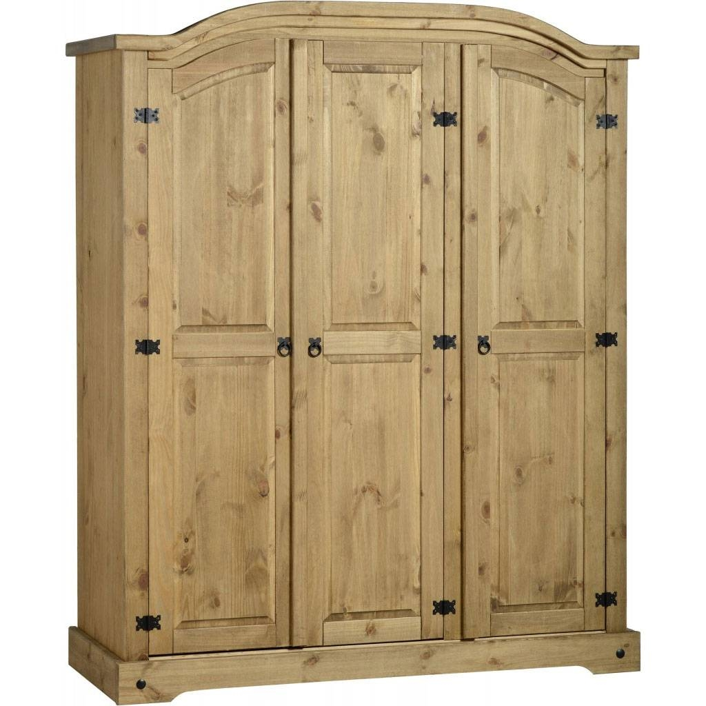 Corona 3 Door Wardrobe - Fall For Furniture intended for Corona Wardrobes With 3 Doors (Image 8 of 15)