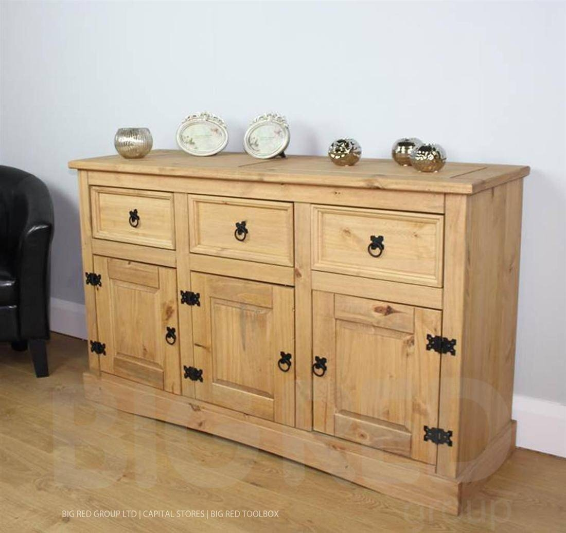 Corona Sideboard - Sideboards, Buffets & Trolleys : Mince His Words in Unfinished Sideboards (Image 3 of 30)