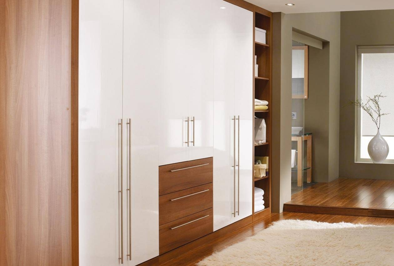 Cosmopolitan Bedroom Furniture & Wardrobes - Sharps pertaining to Walnut Wardrobes (Image 4 of 15)
