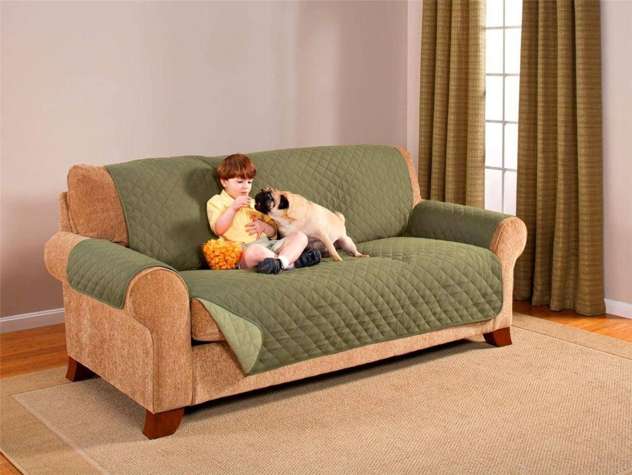 Couch Protector Slip Covers With Regard To Sofa And Chair Covers (View 2 of 30)