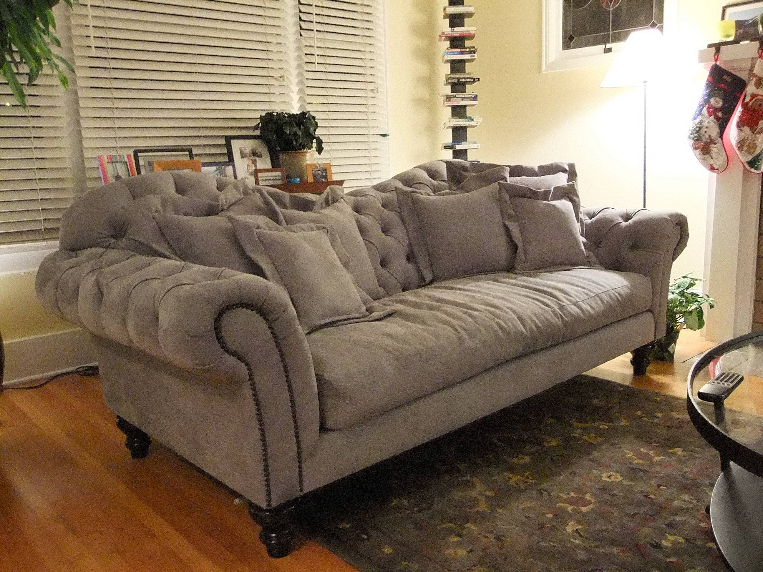 Couch Seattle | Custom To The Inch Seating At Non-Custom Pricing pertaining to Sofas With High Backs (Image 2 of 30)