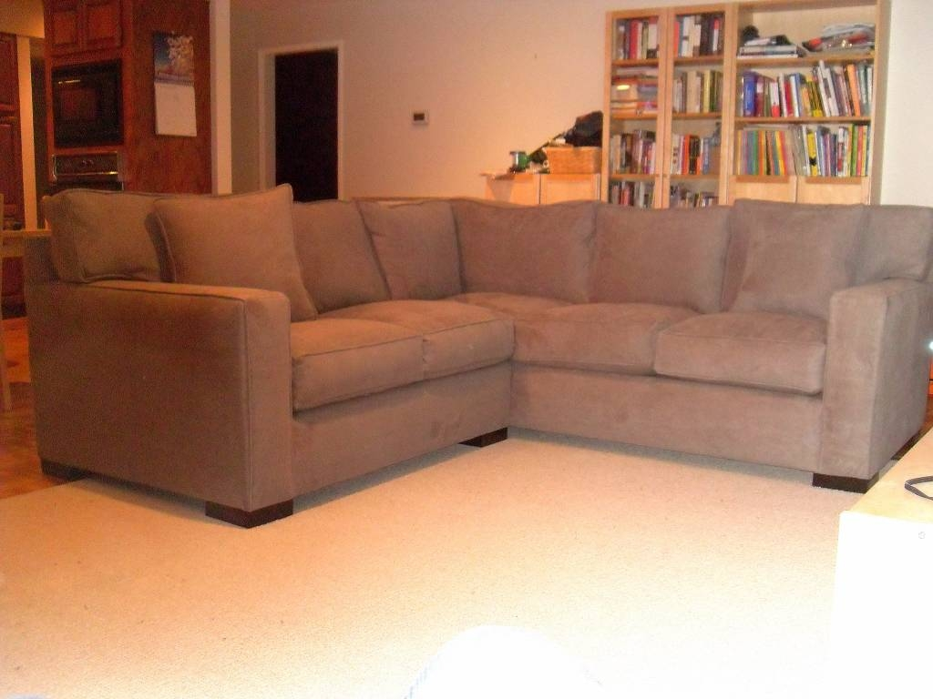 Couch Seattle | Custom To The Inch Seating At Non-Custom Pricing regarding Crate And Barrel Sectional Sofas (Image 10 of 30)