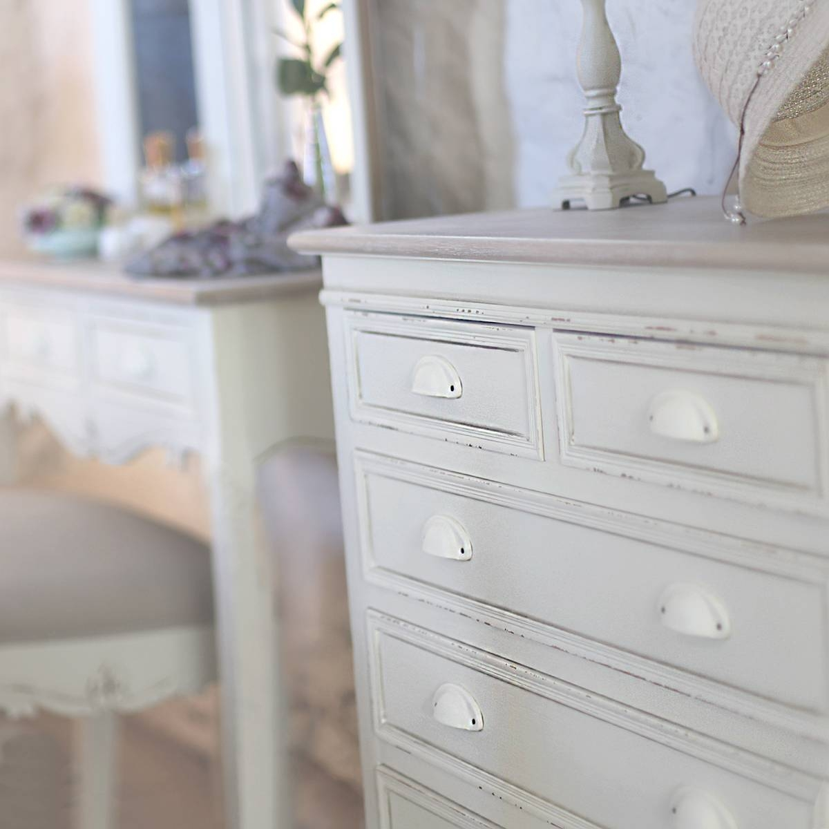 Country Shabby Chic Furniture within Shabby Chic Pine Wardrobes (Image 3 of 15)