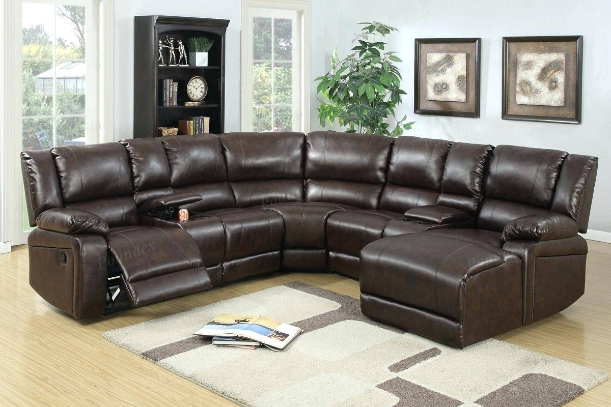 Covering Leather Sofa Modern Sets With Elegant Set Living Room within Abbyson Living Charlotte Dark Brown Sectional Sofa And Ottoman (Image 12 of 30)