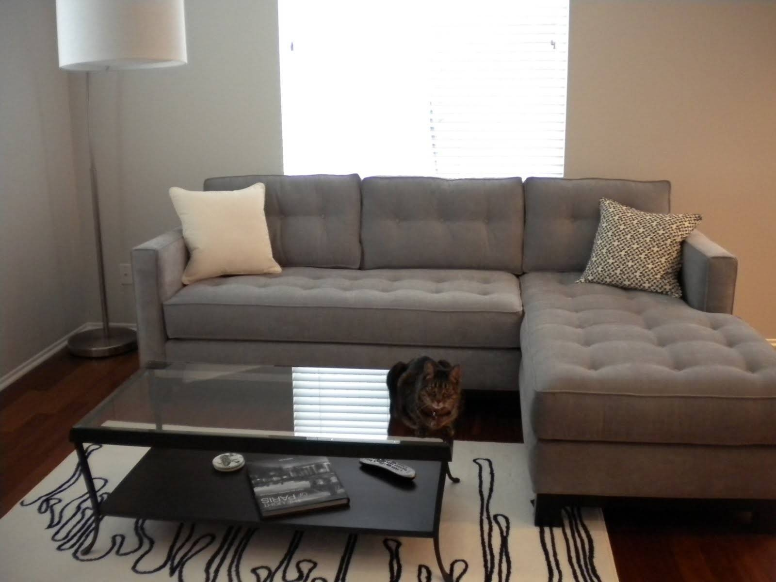 Cozy Coffee Table For Sectional Sofa With Chaise 70 For Braxton regarding Braxton Sectional Sofa (Image 19 of 30)