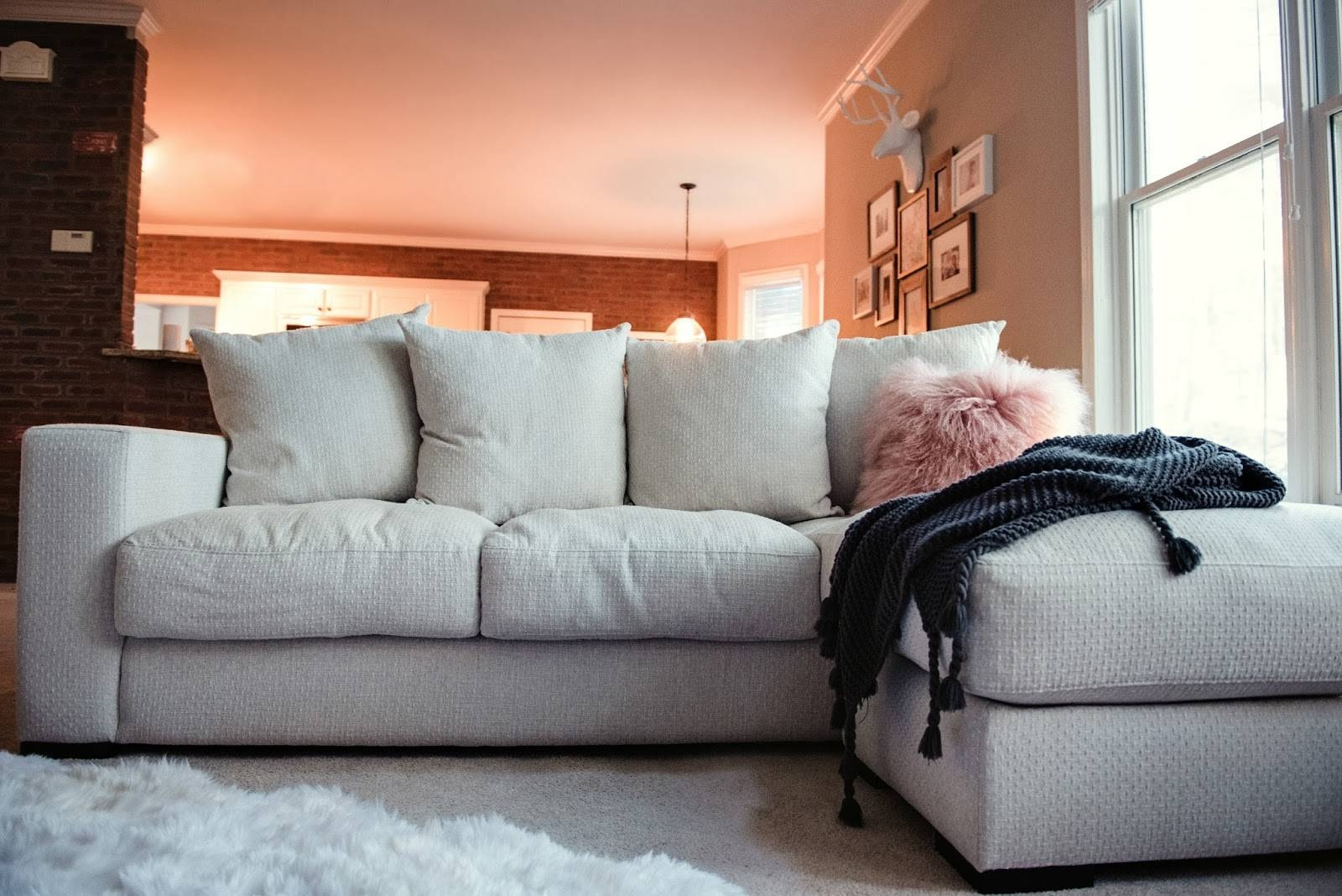 Cozy Family Room Style With Jonathan Louis Furniture - Garvinandco intended for Jonathan Sofa (Image 6 of 25)