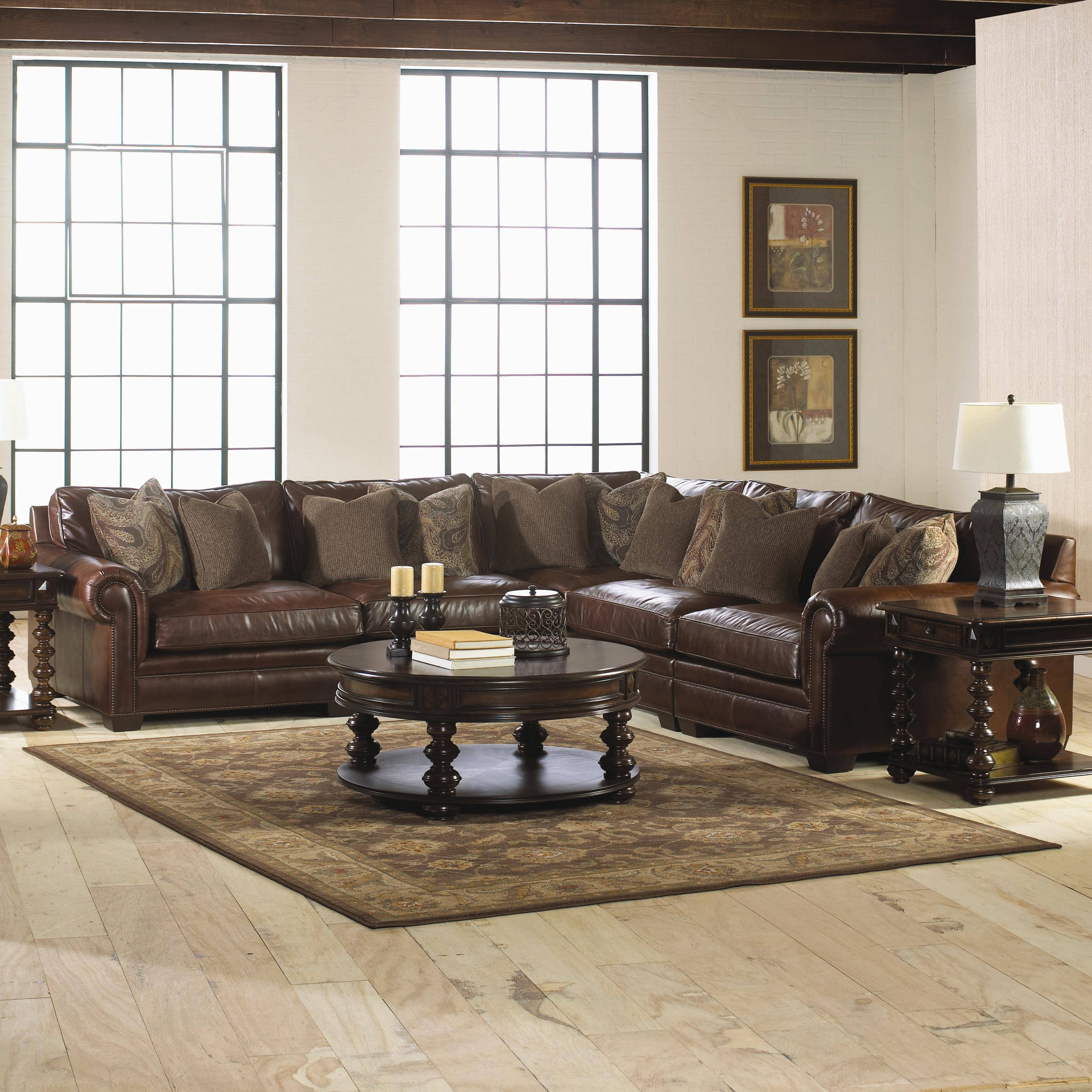 Cozy Sectional Sofas Havertys 21 For Abbyson Living Charlotte pertaining to Abbyson Living Charlotte Beige Sectional Sofa and Ottoman (Image 13 of 30)