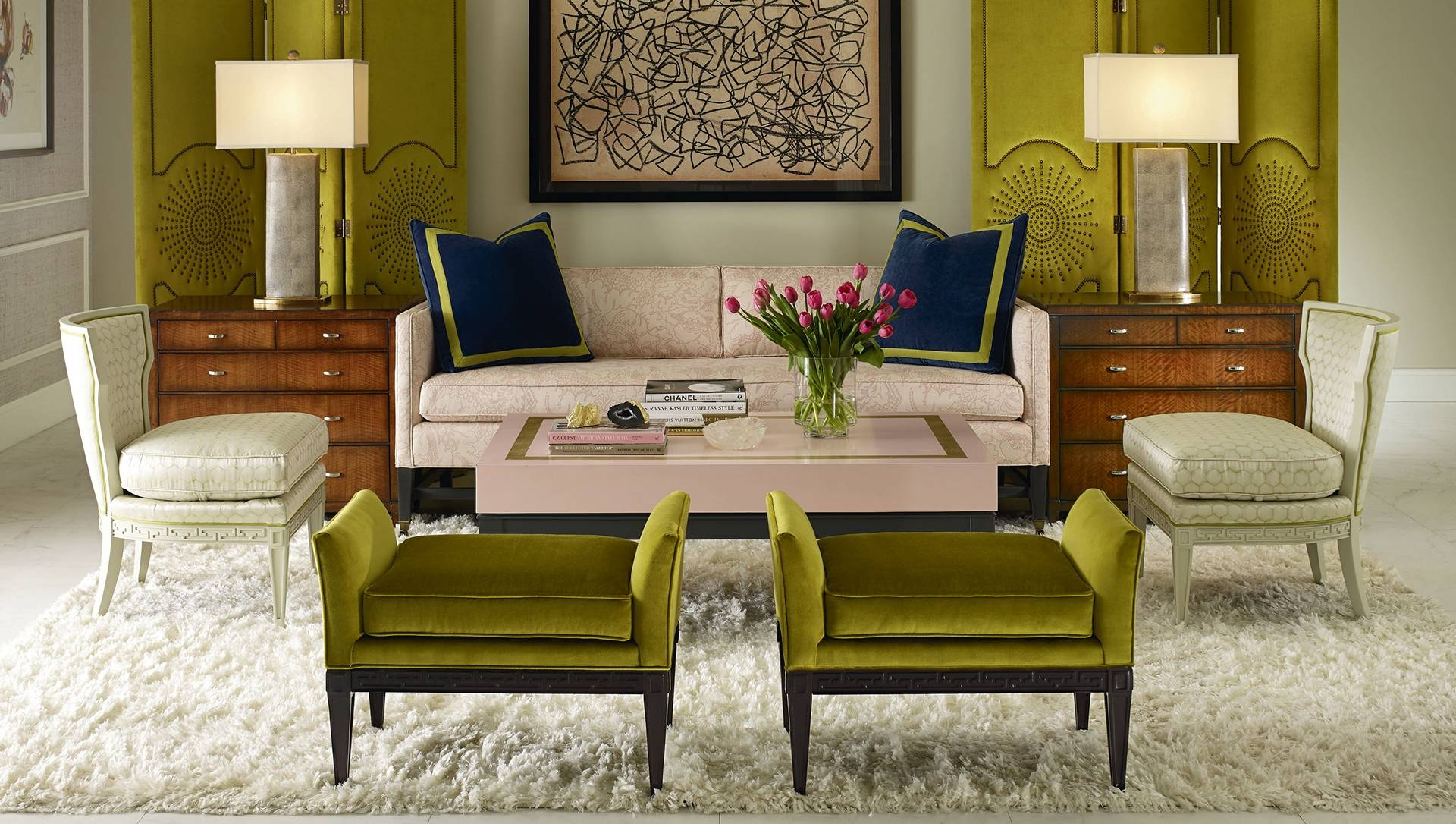 Cr Laine Home Page in Yellow Sofa Chairs (Image 12 of 30)