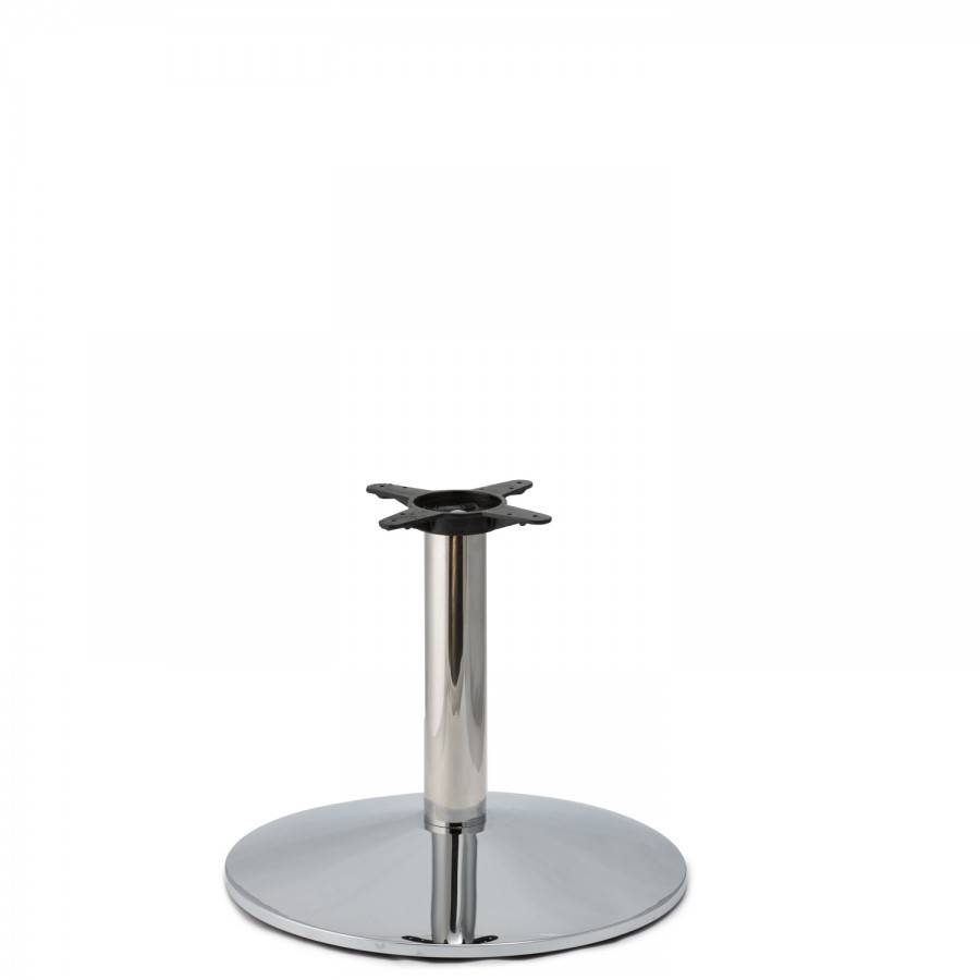 Cr22 Chrome - Heavy Weight Table Base | Tablebases - Quality inside Chrome Coffee Table Bases (Image 14 of 30)
