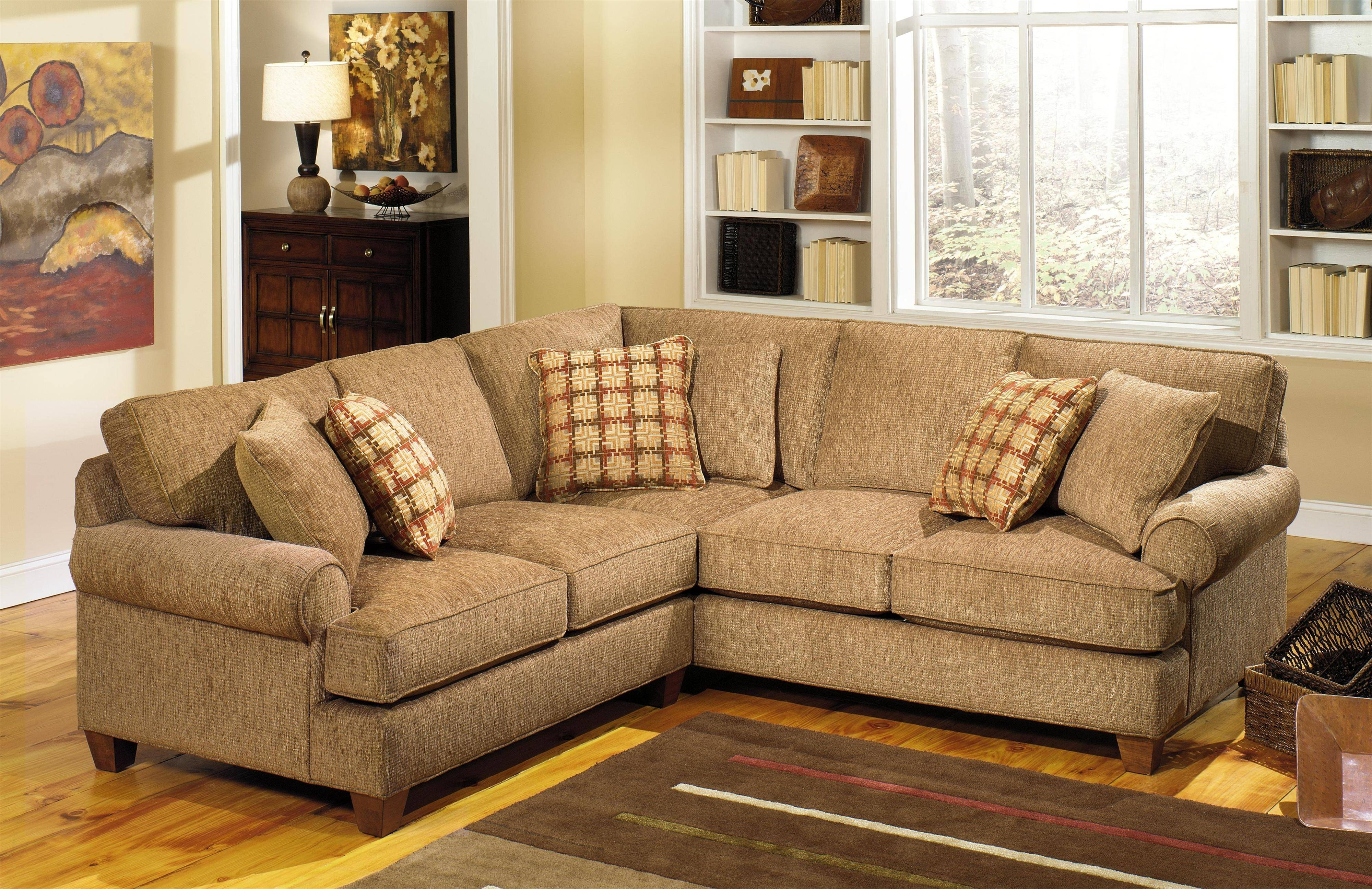 Craftmaster C9 Custom Collection <B>Customizable</b> Two Piece inside Craftmaster Sectional Sofa (Image 7 of 30)