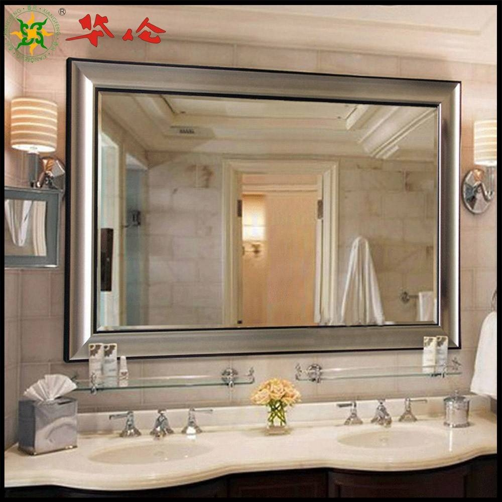 Crafty Inspiration Ideas Large Mirrors For Bathrooms Bathroom Wall intended for Large Mirrors (Image 9 of 25)